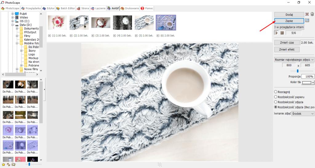 PhotoScape - GIF