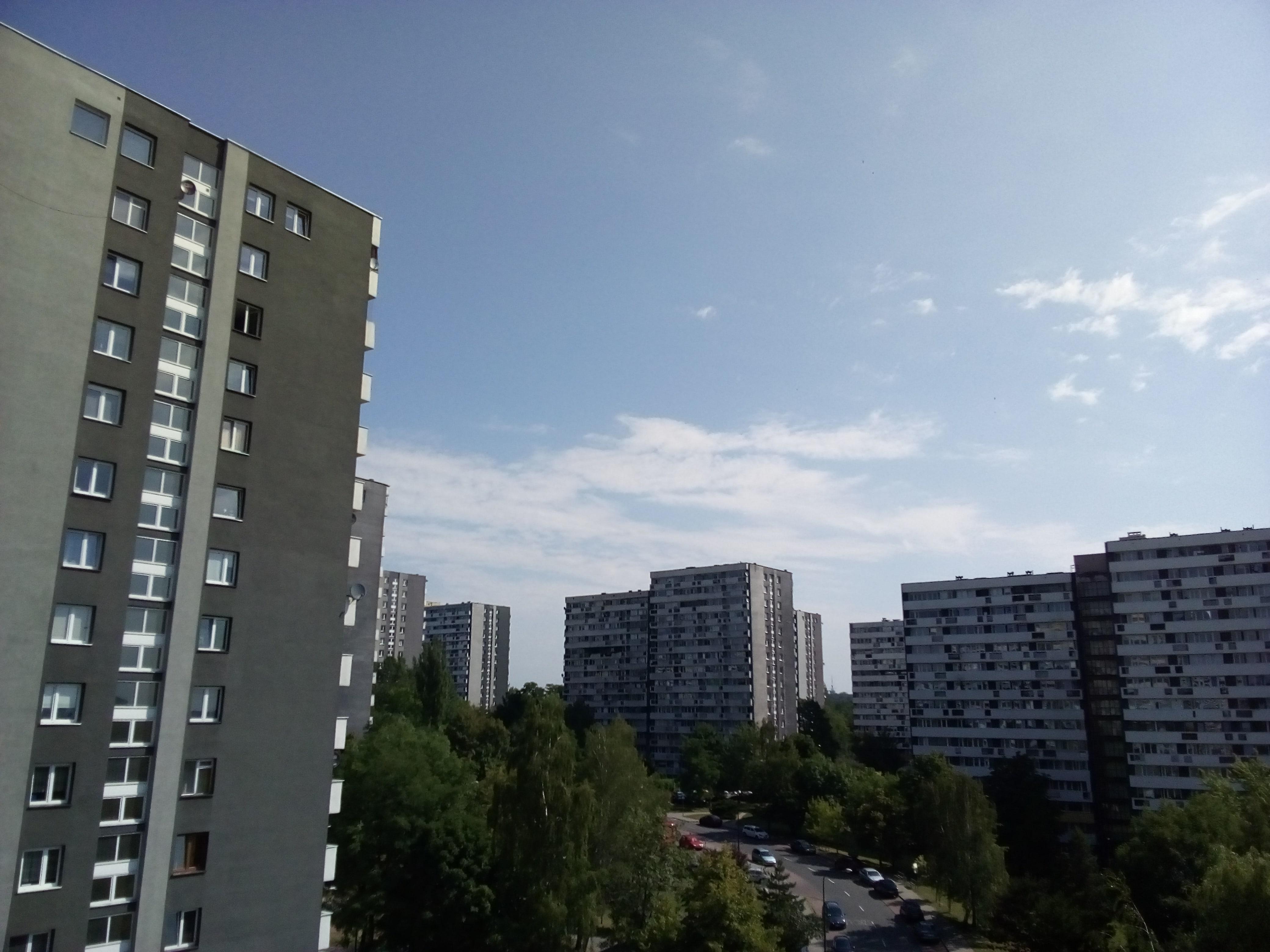 Słoneczna pogoda - ZTE Blade A602