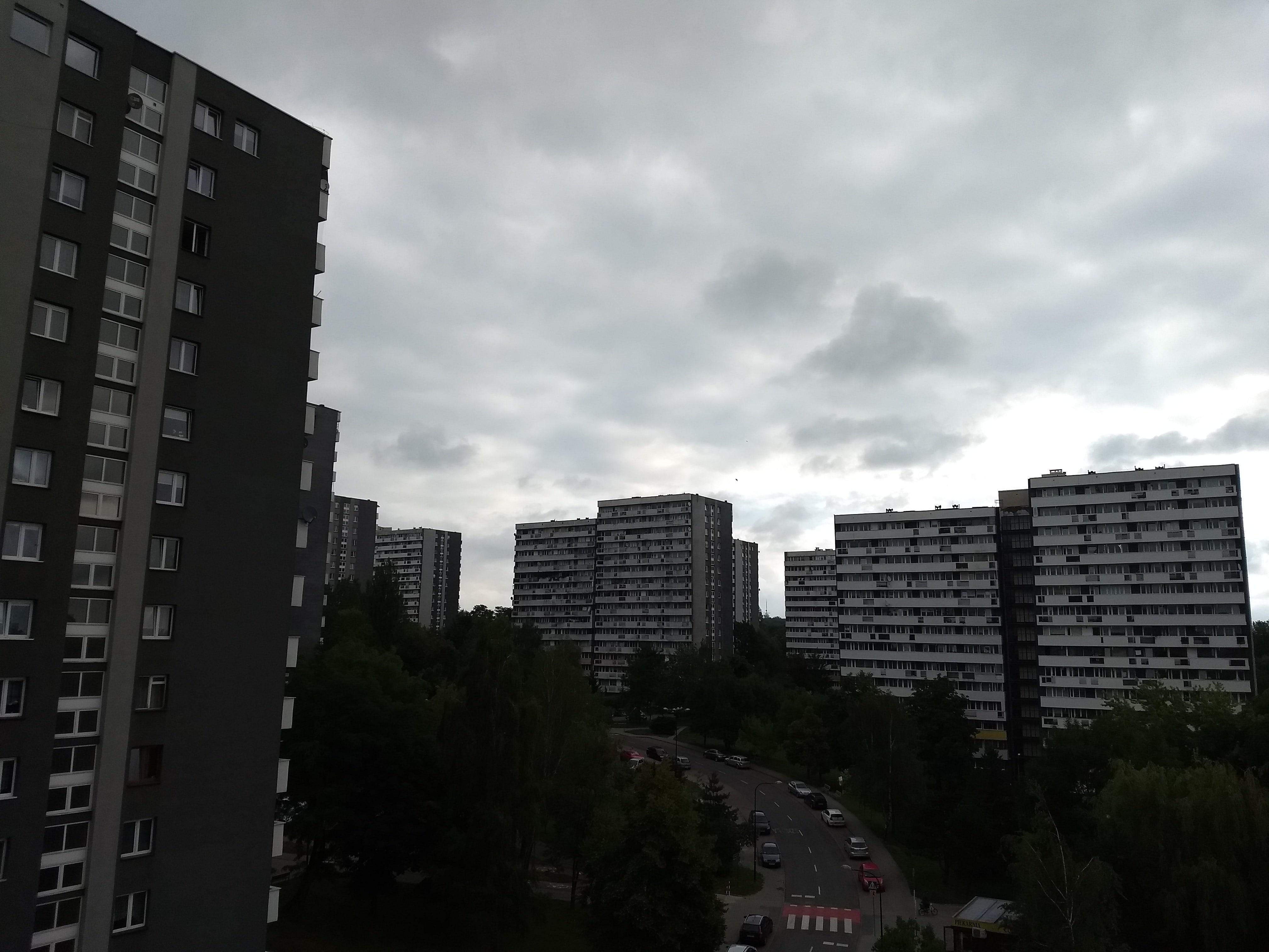 Pochmurna pogoda - Motorola Moto G5 Plus