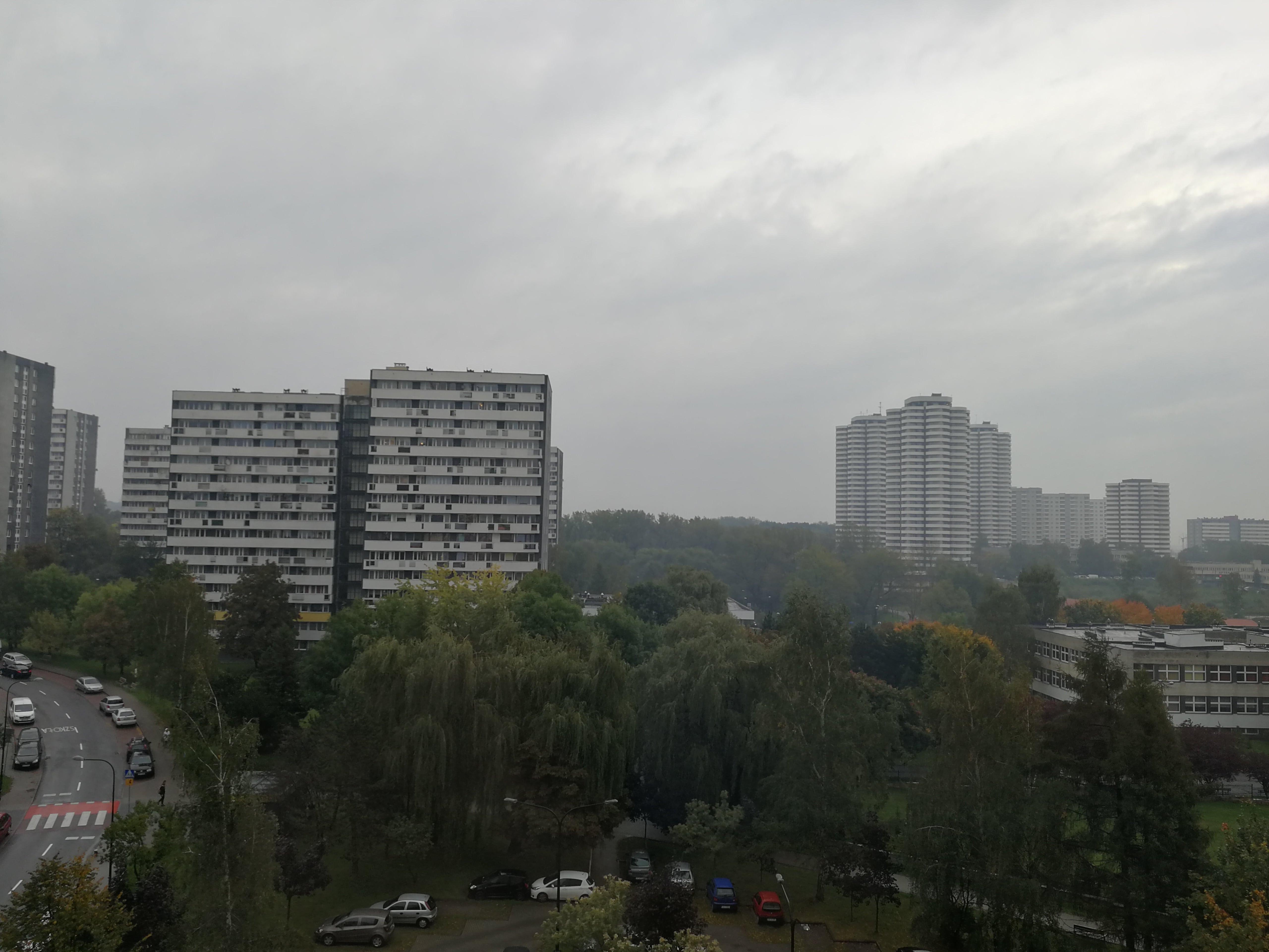 Pochmurna pogoda - Huawei P10