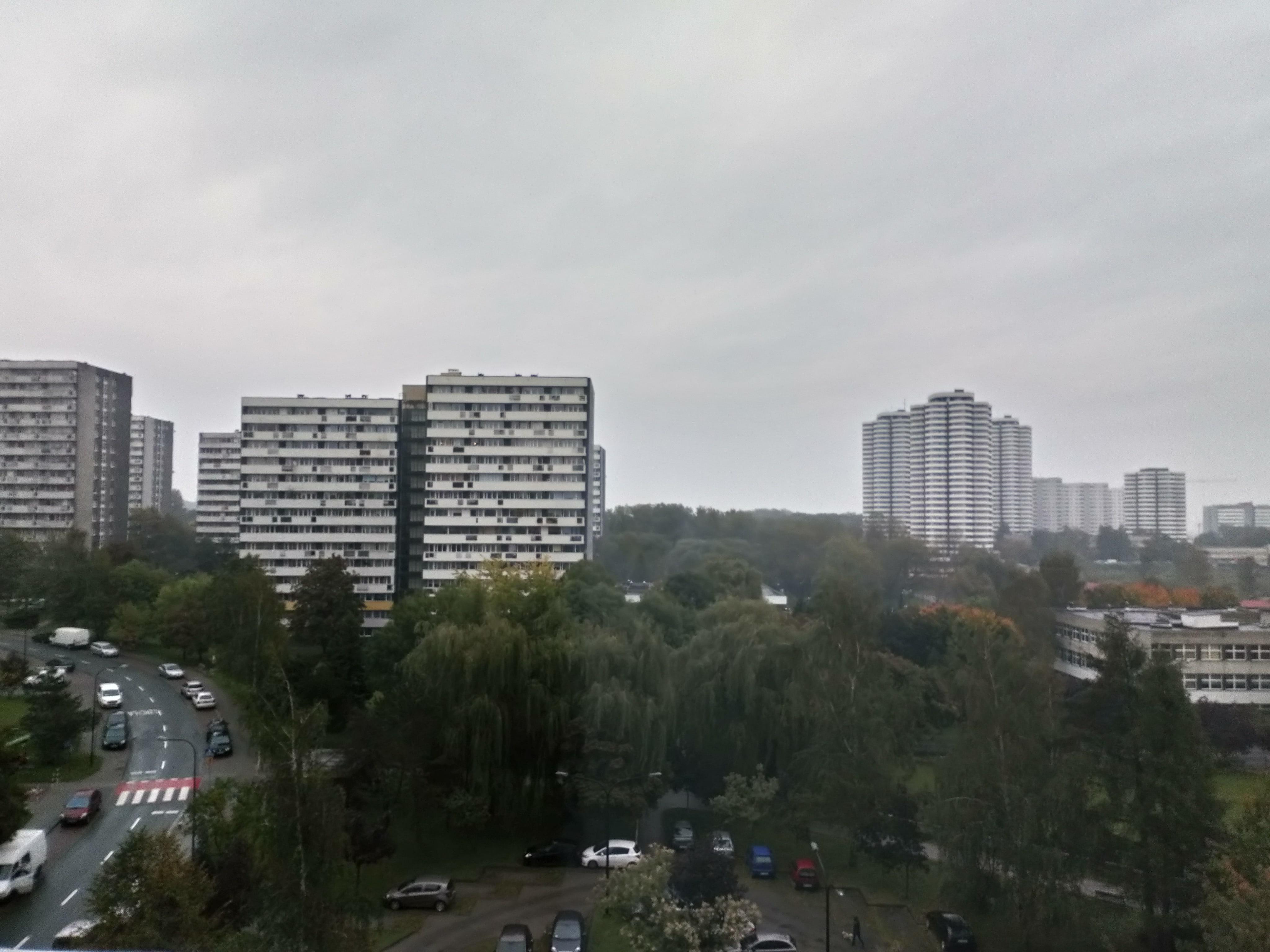 Pochmurna pogoda - Sony Xperia L1