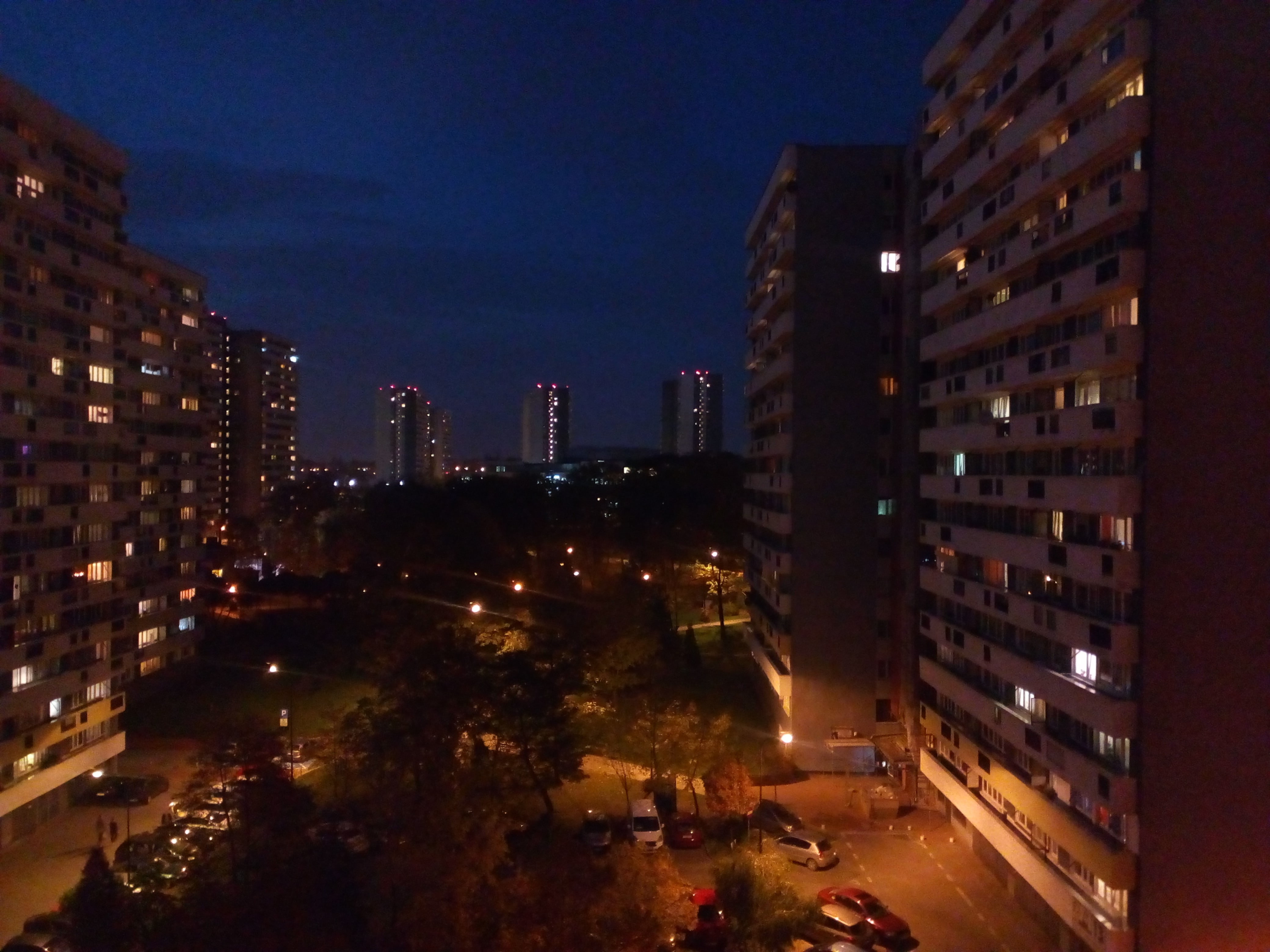 Zdjęcia nocne - ZTE Blade A612