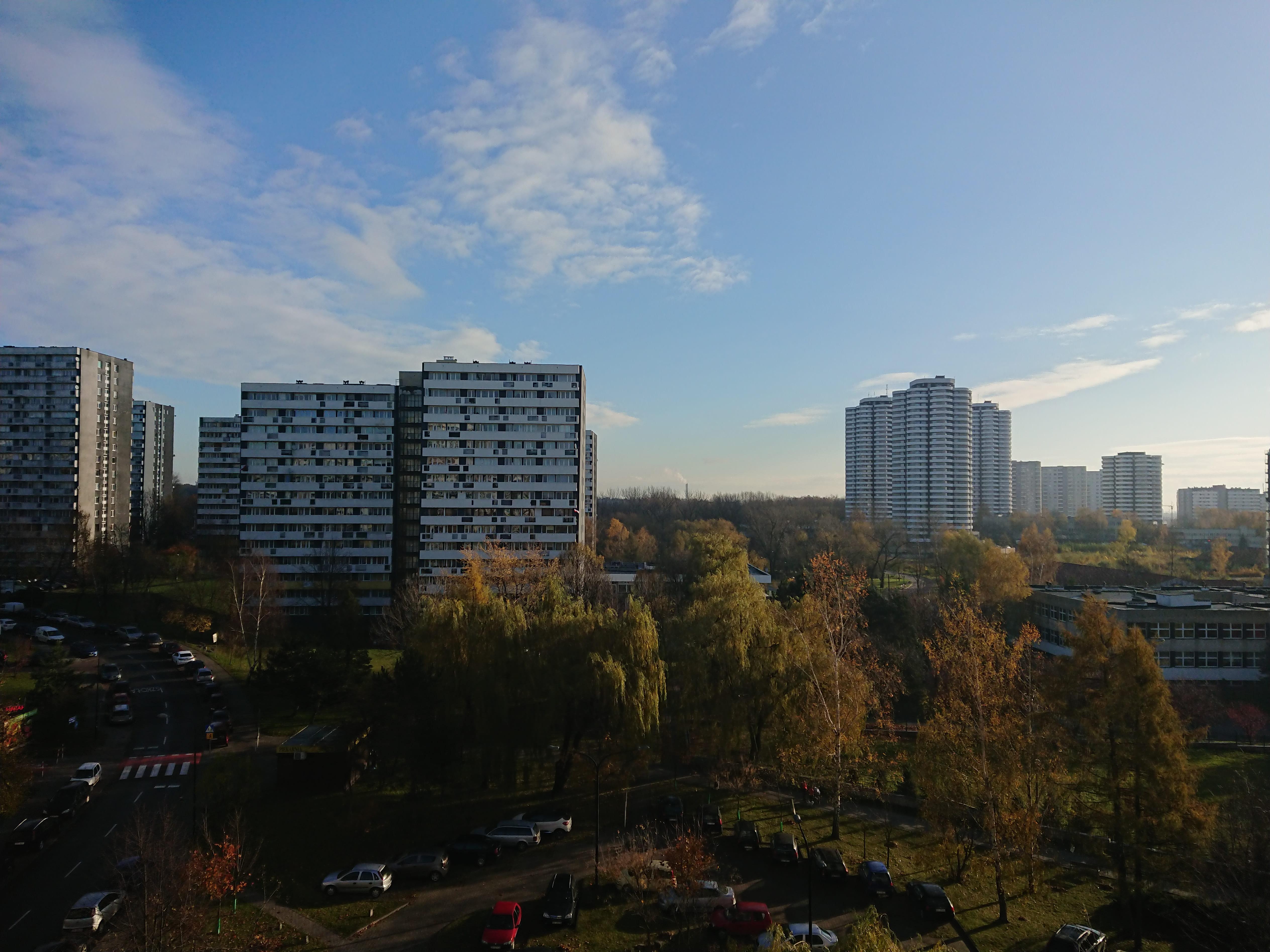 Słoneczna pogoda - Sony Xperia XZ1
