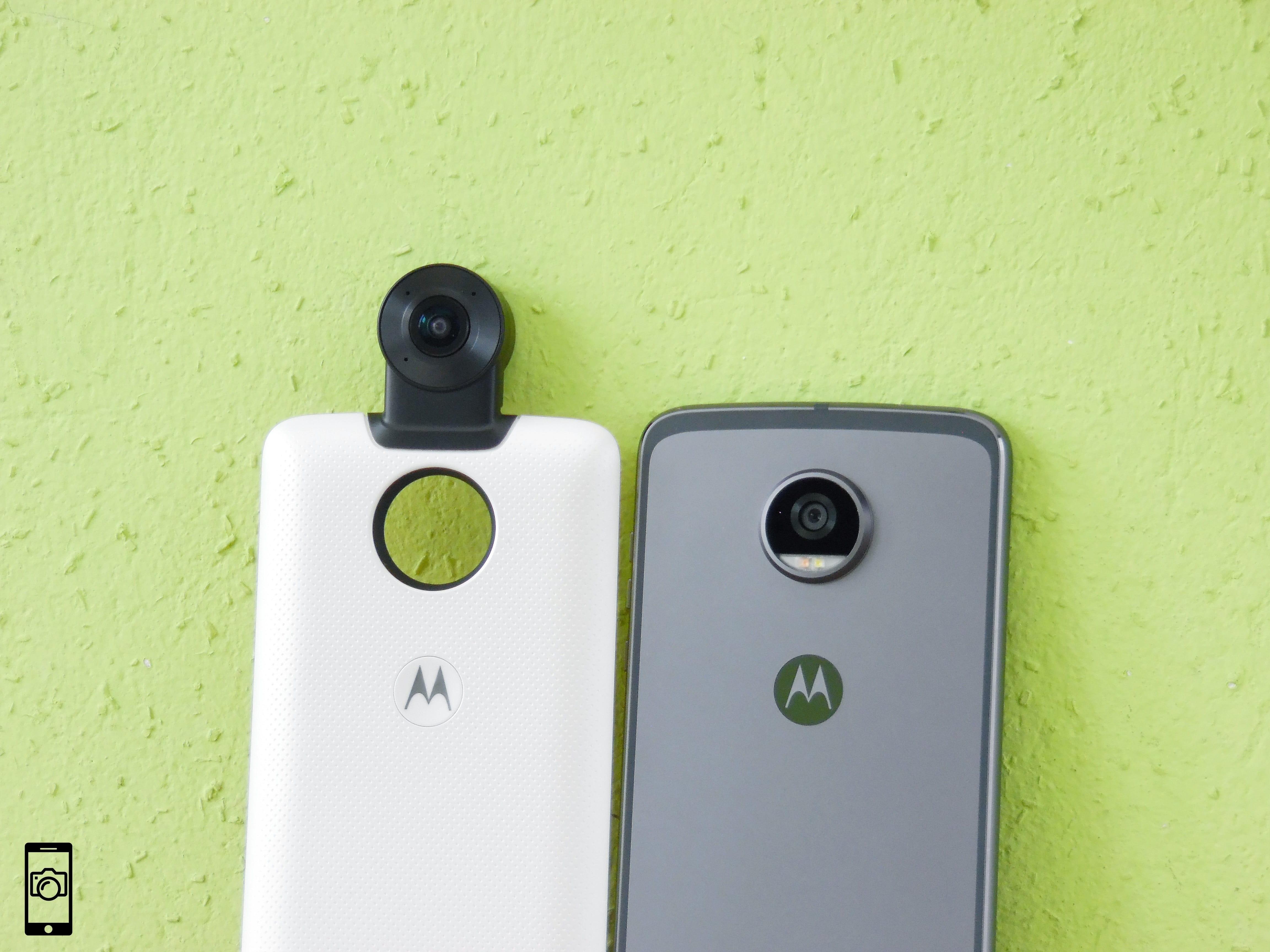 Motorola Moto Z2 Play + Moto 360 Camera