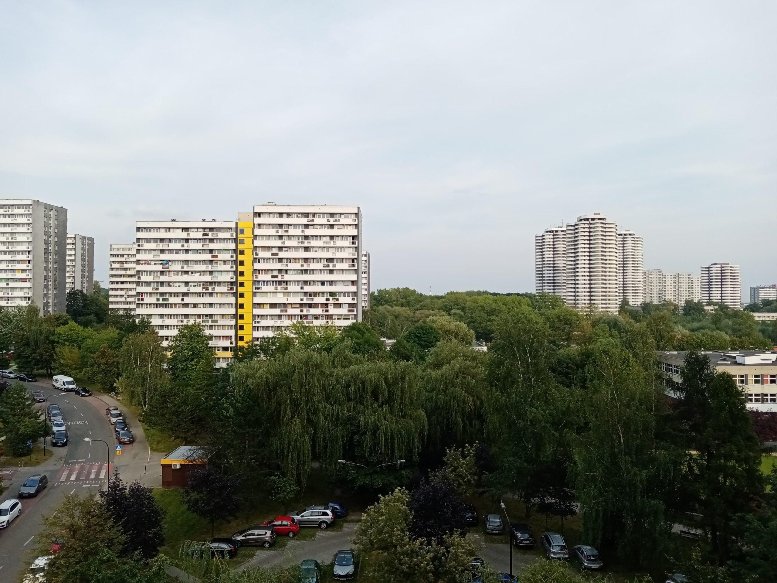 Pochmurna pogoda - Huawei Y6p