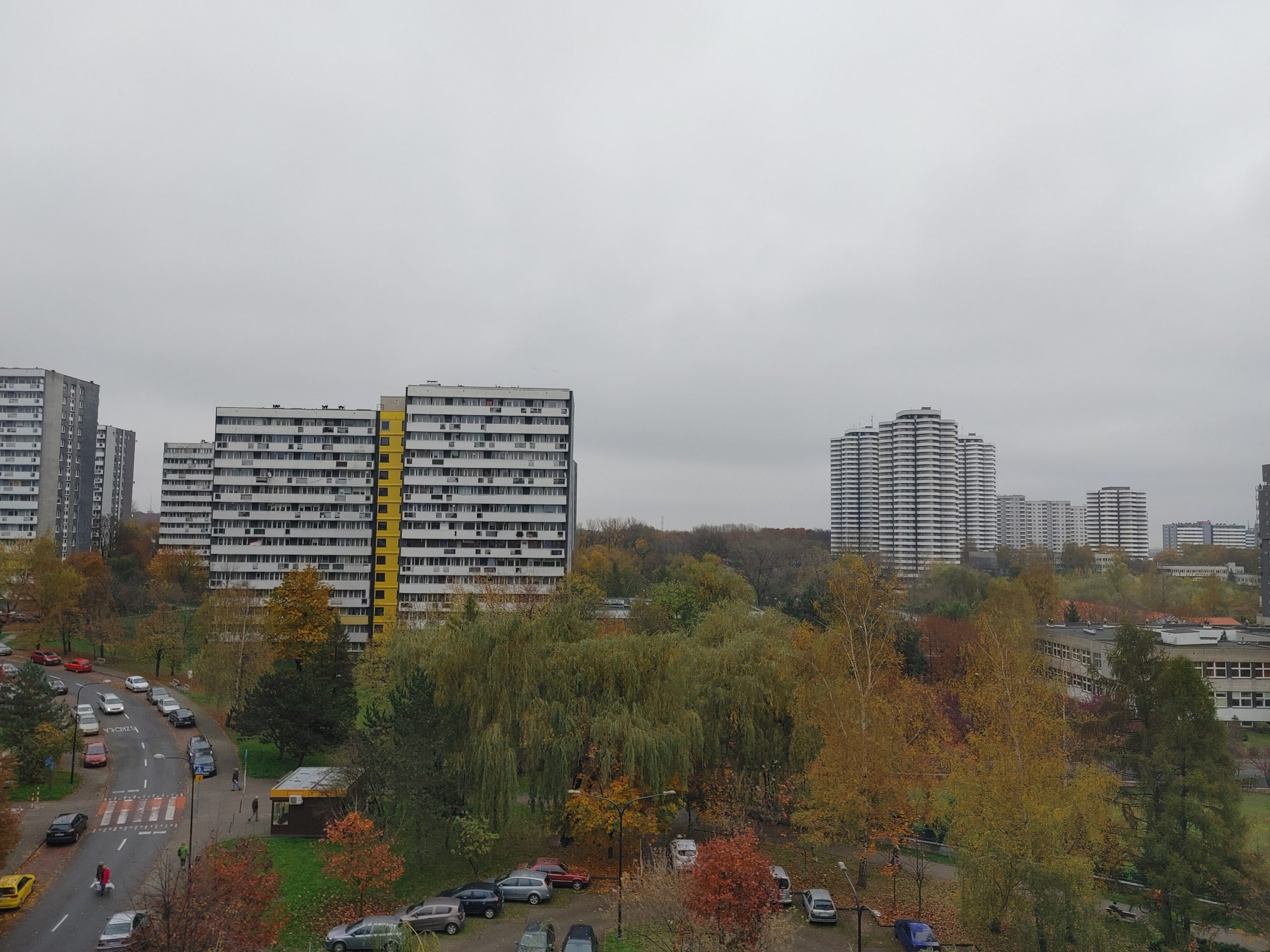 Pochmurna pogoda - LG Velvet