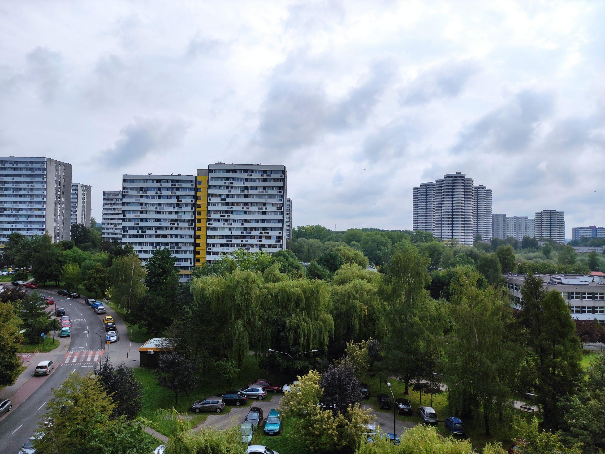 Pochmurna pogoda - Xiaomi Mi Note 10 Lite