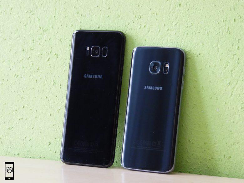 Samsung Galaxy S7 vs Galaxy S8 Plus