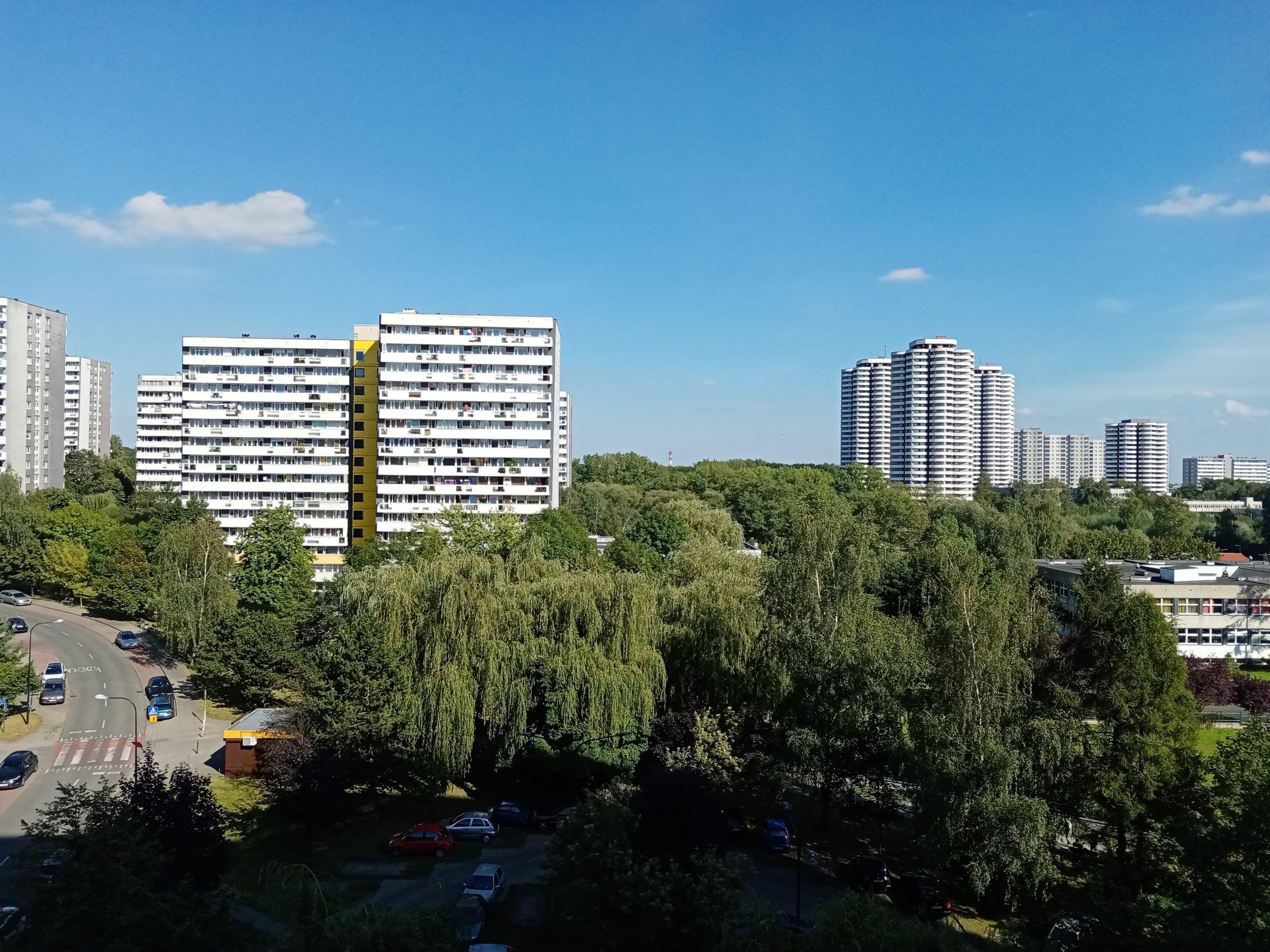Słoneczna pogoda - Huawei Y6p