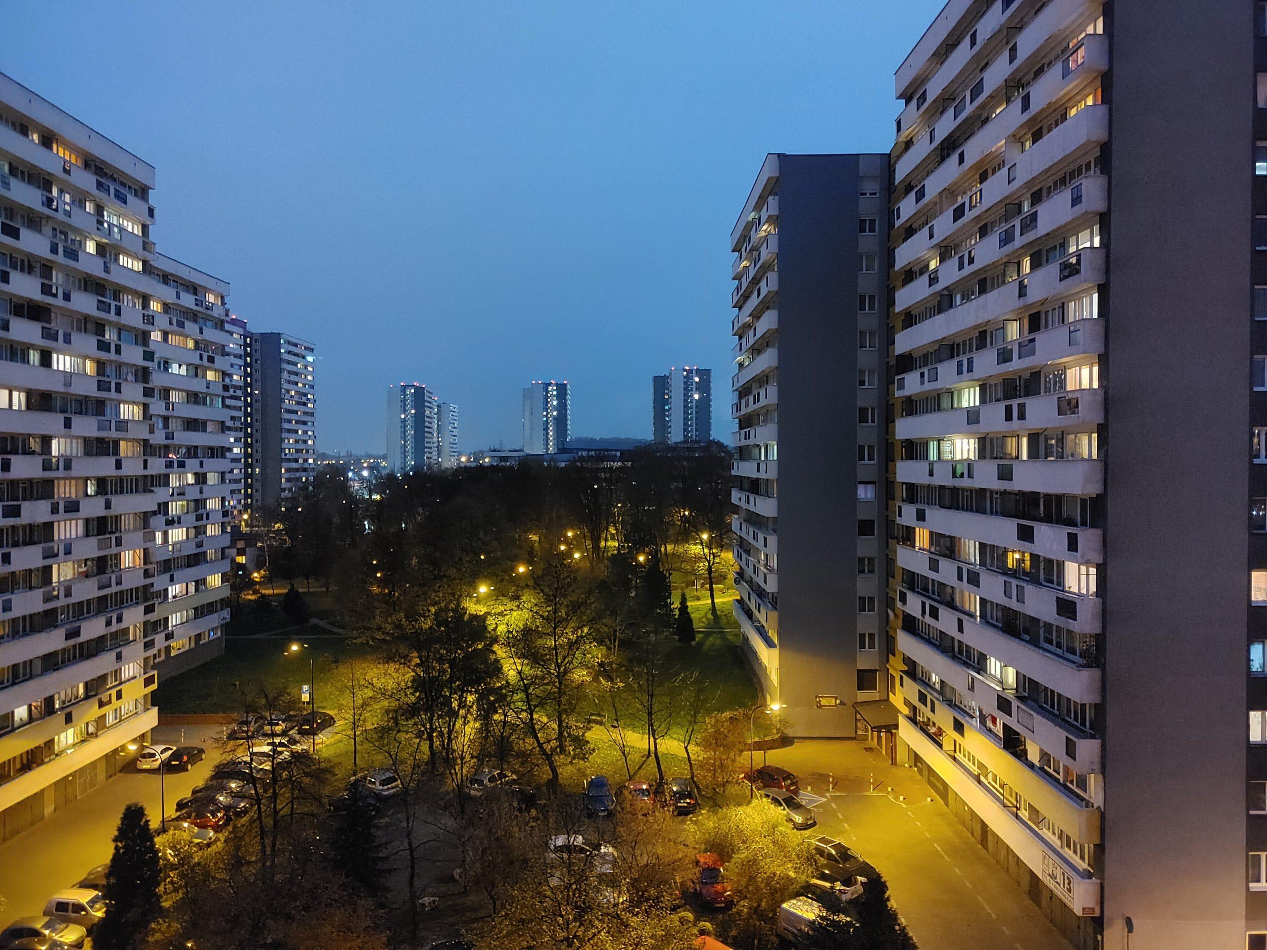 Zdjęcia nocne - LG Velvet