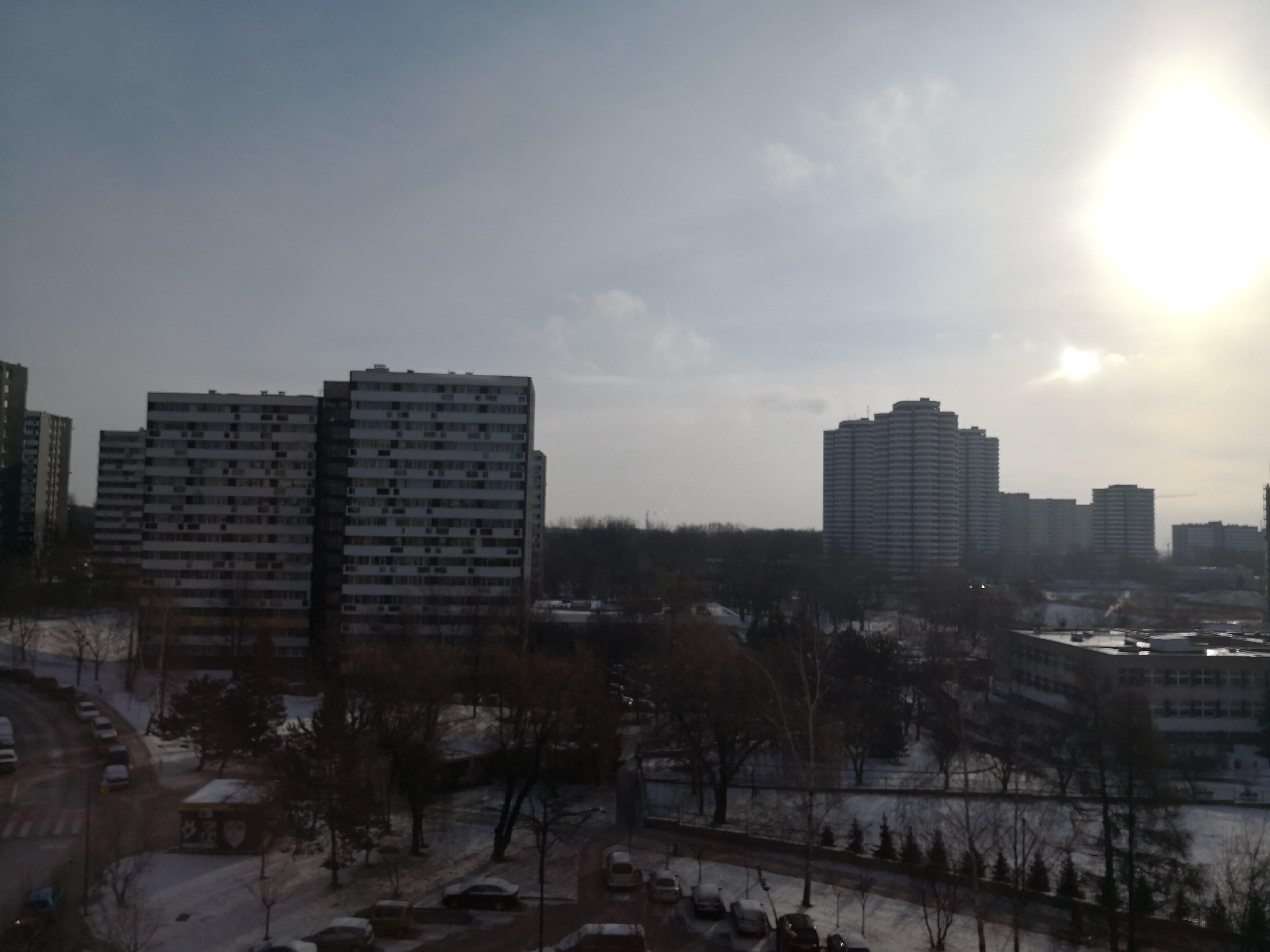 Słoneczna pogoda - Huawei Mate 10 Pro