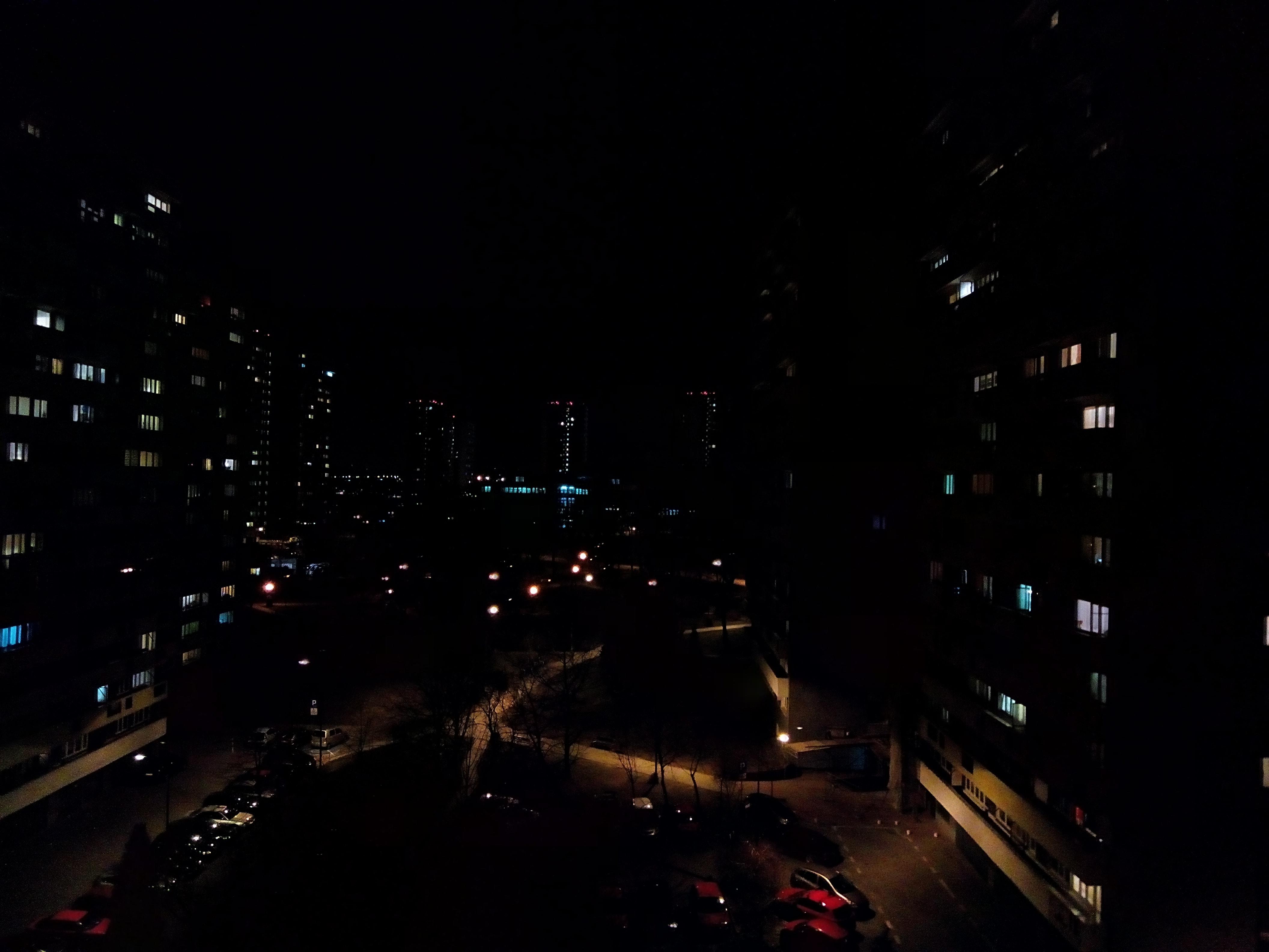 Zdjęcia nocne - Archos Sense 55DC