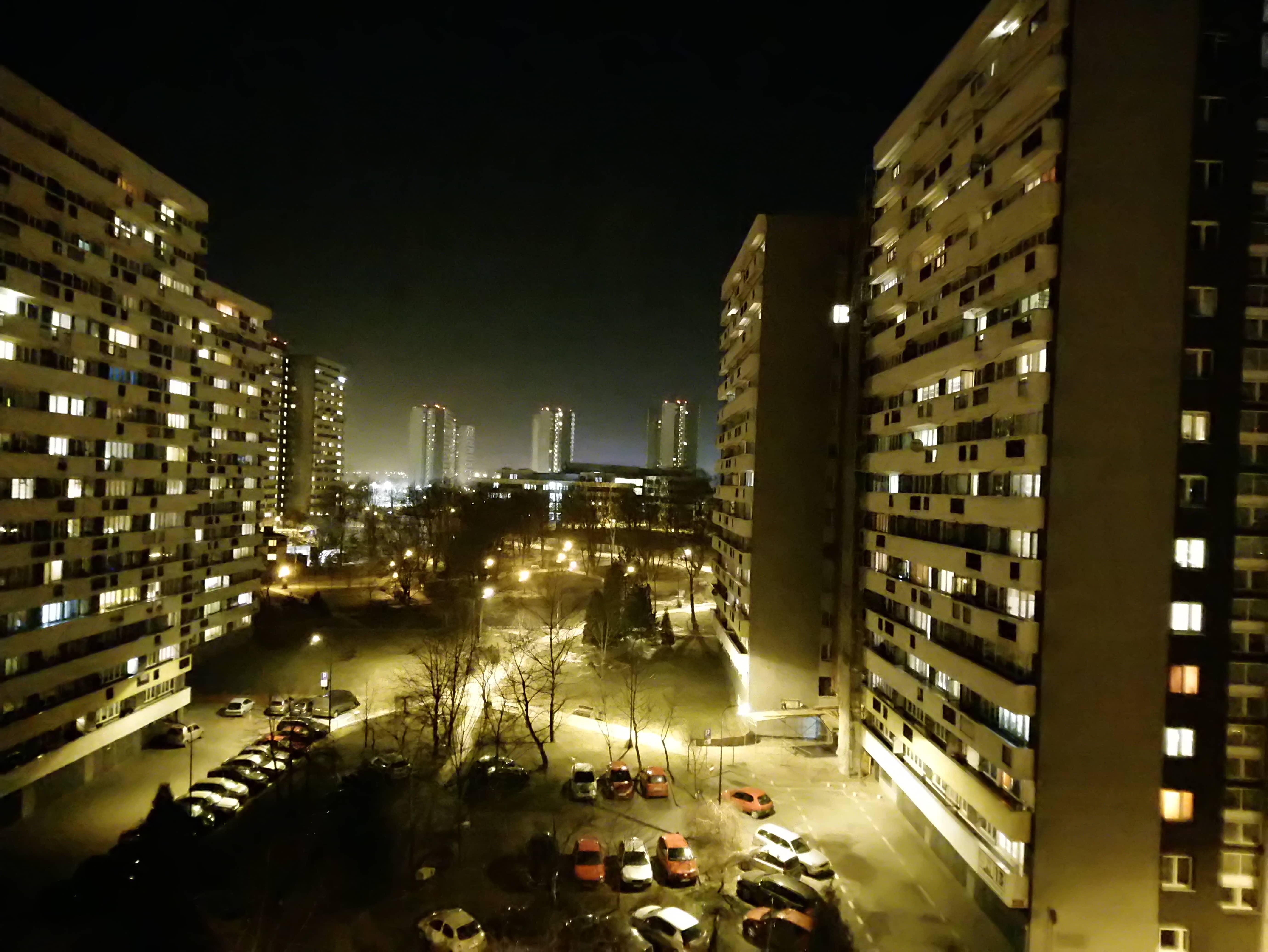 Zdjęcia nocne - Sony Xperia XA2 Ultra