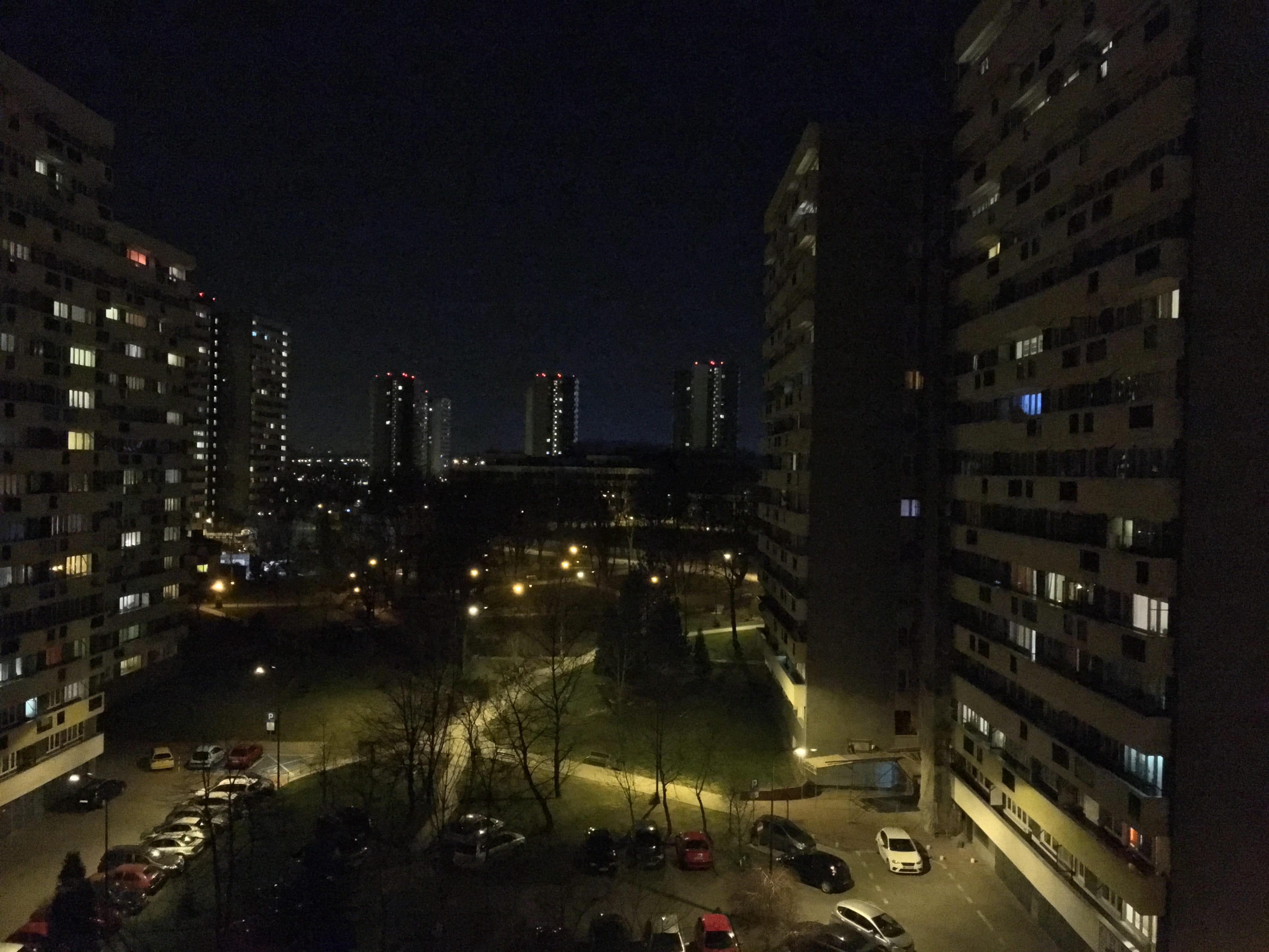 Zdjęcia nocne - iPhone 6S