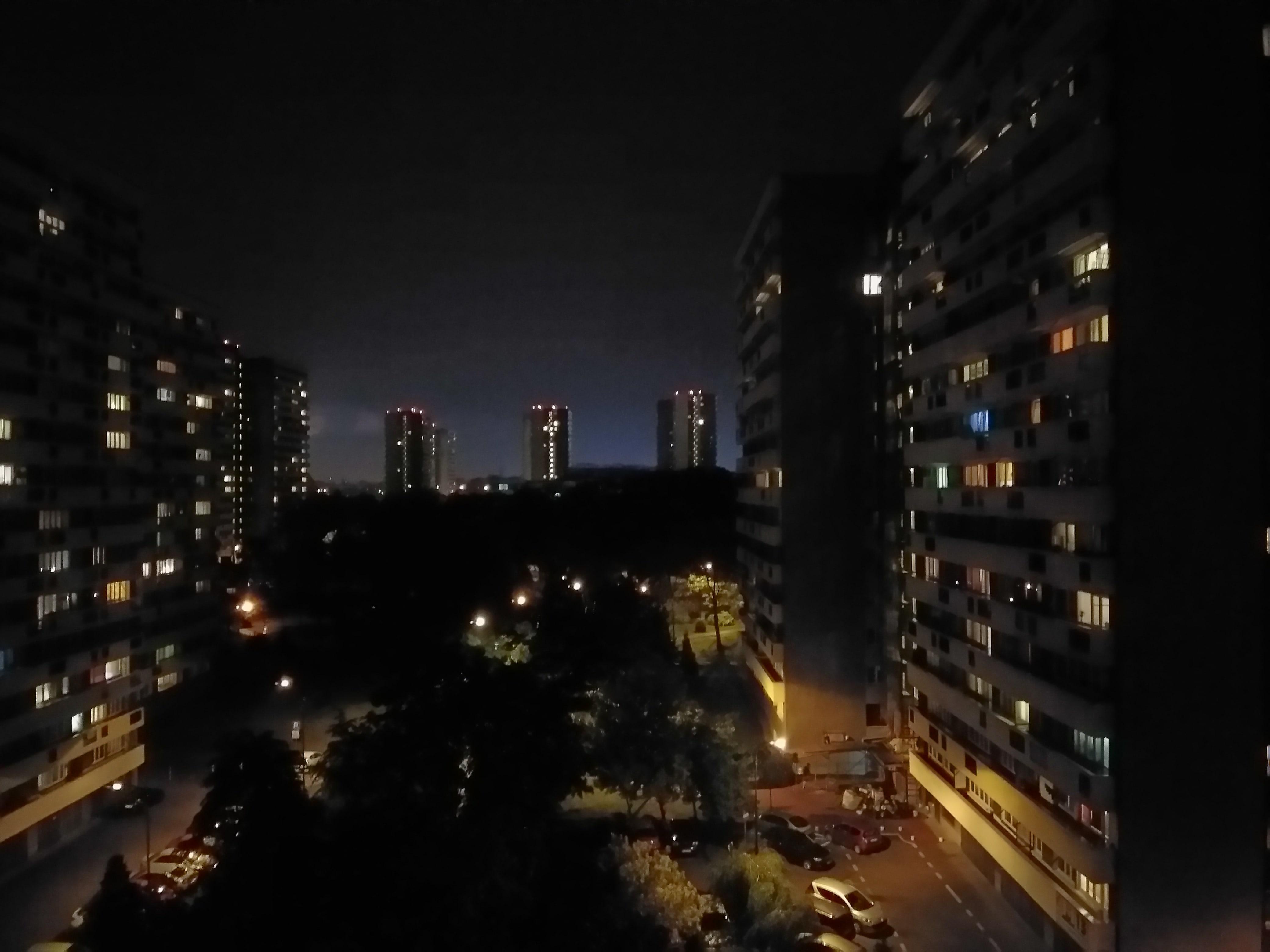Zdjęcia nocne - Wiko VIEW