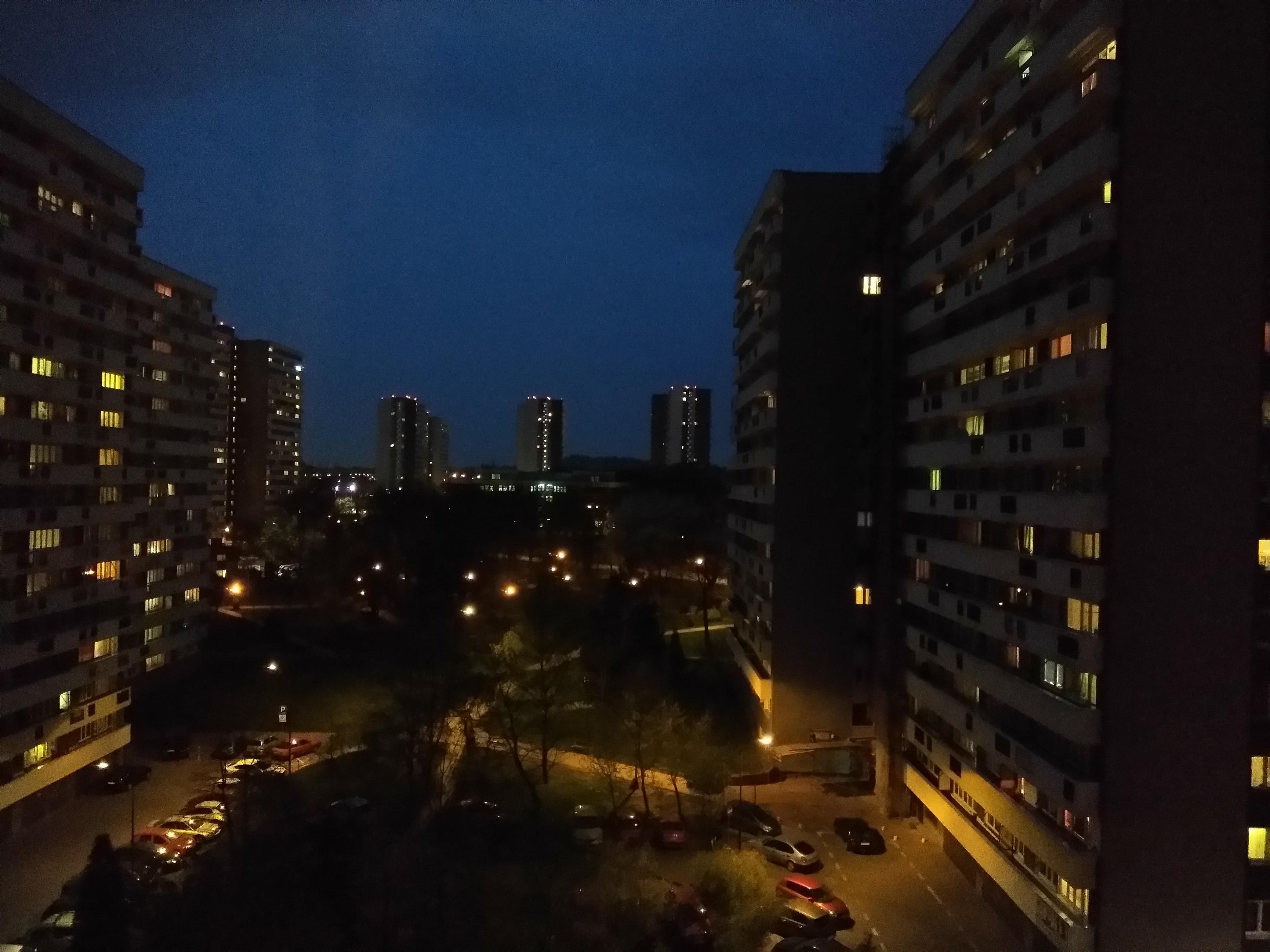 Zdjęcia nocne - ZTE Blade V8