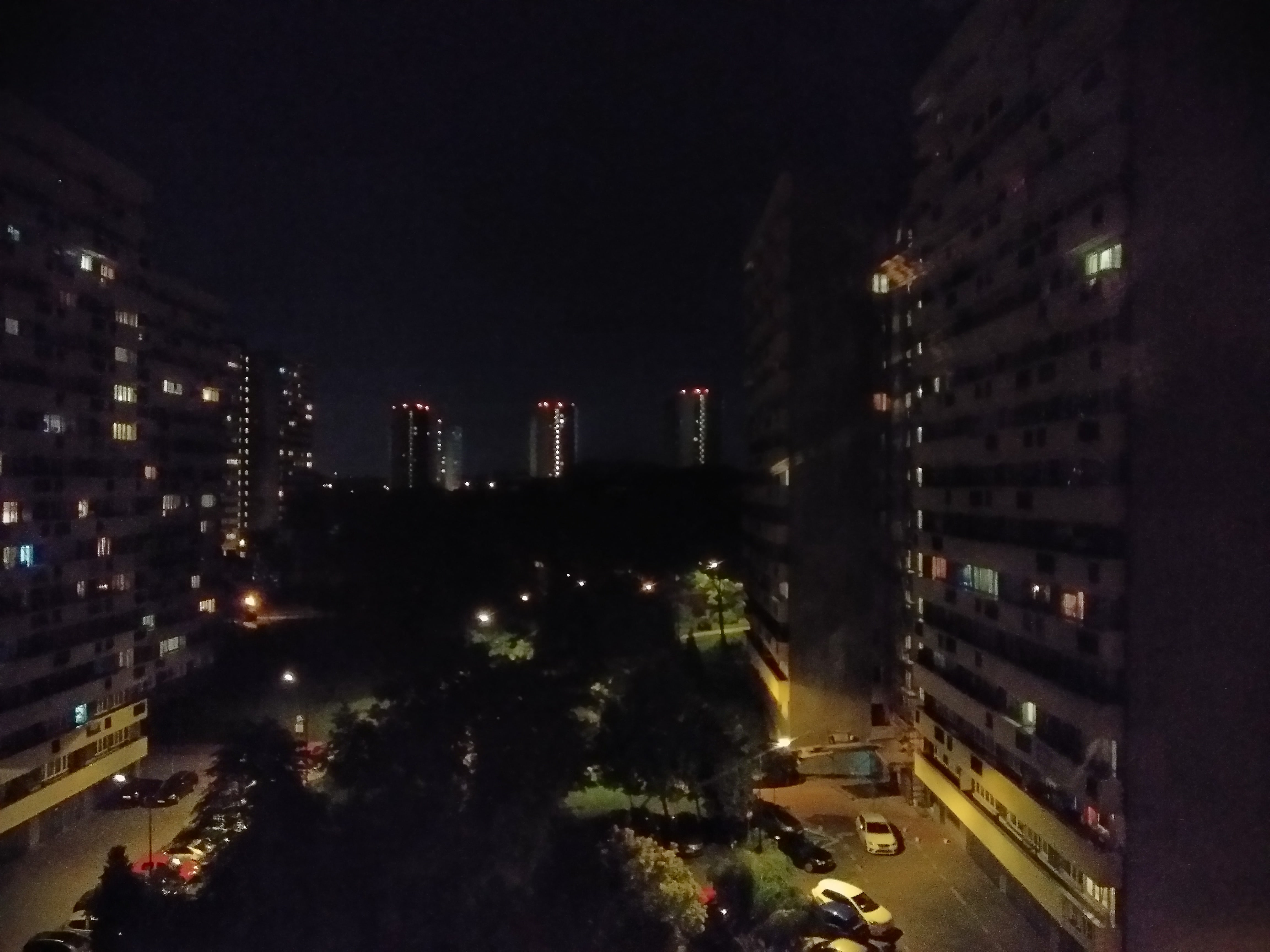 Zdjęcia nocne - Wiko VIEW Prime
