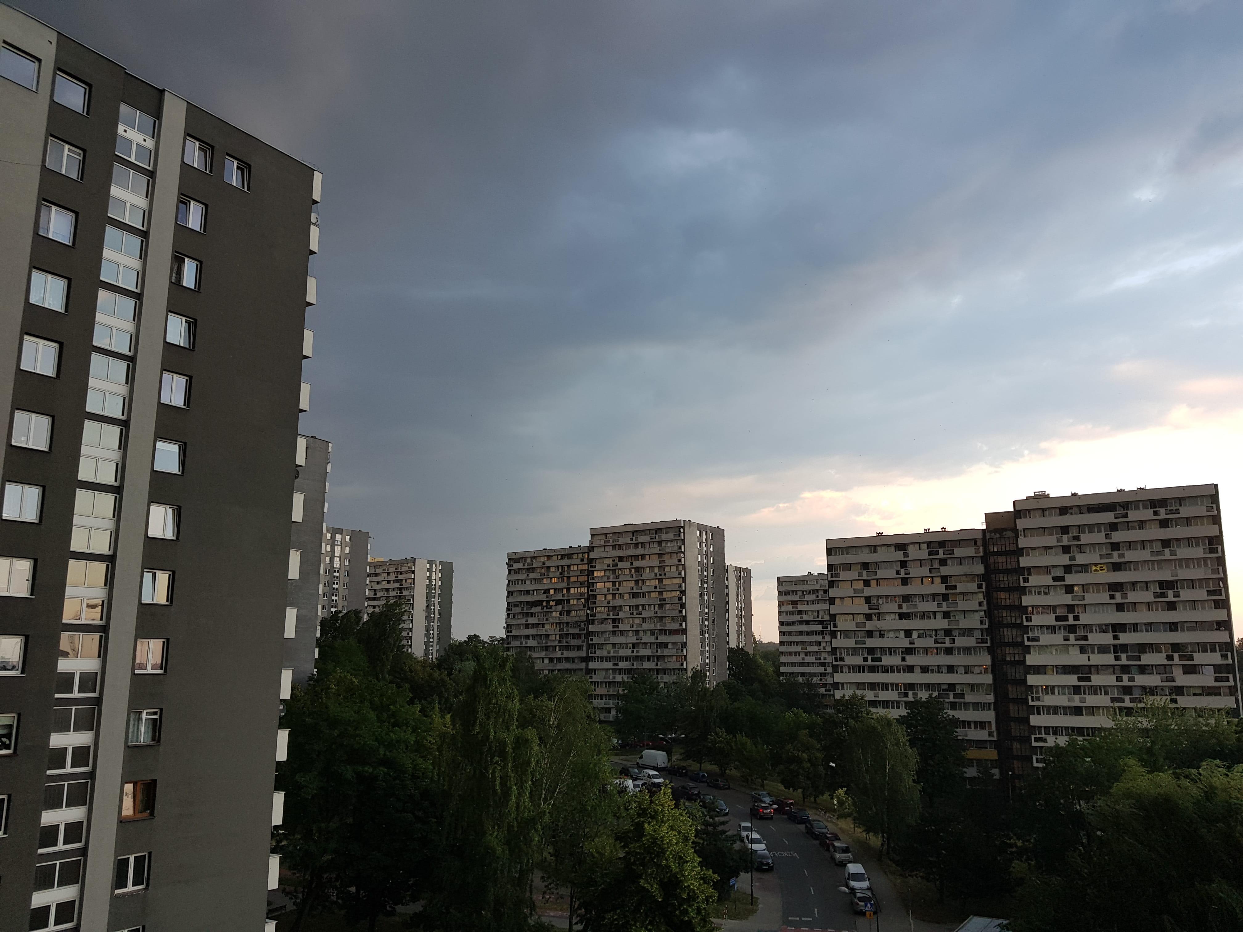 Pochmurna pogoda - Samsung Galaxy Note 8