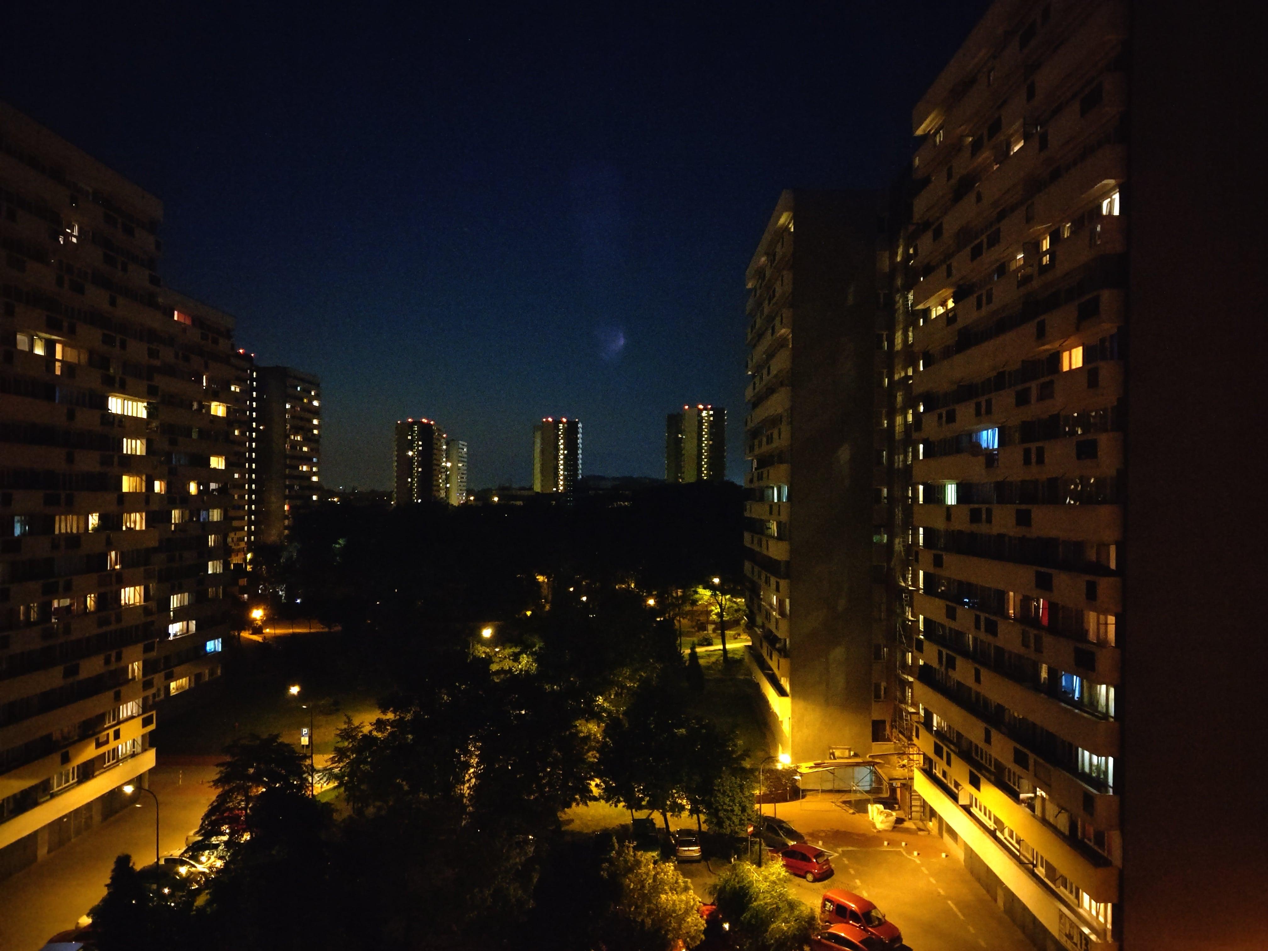 HTC U12+ - zdjęcia nocne