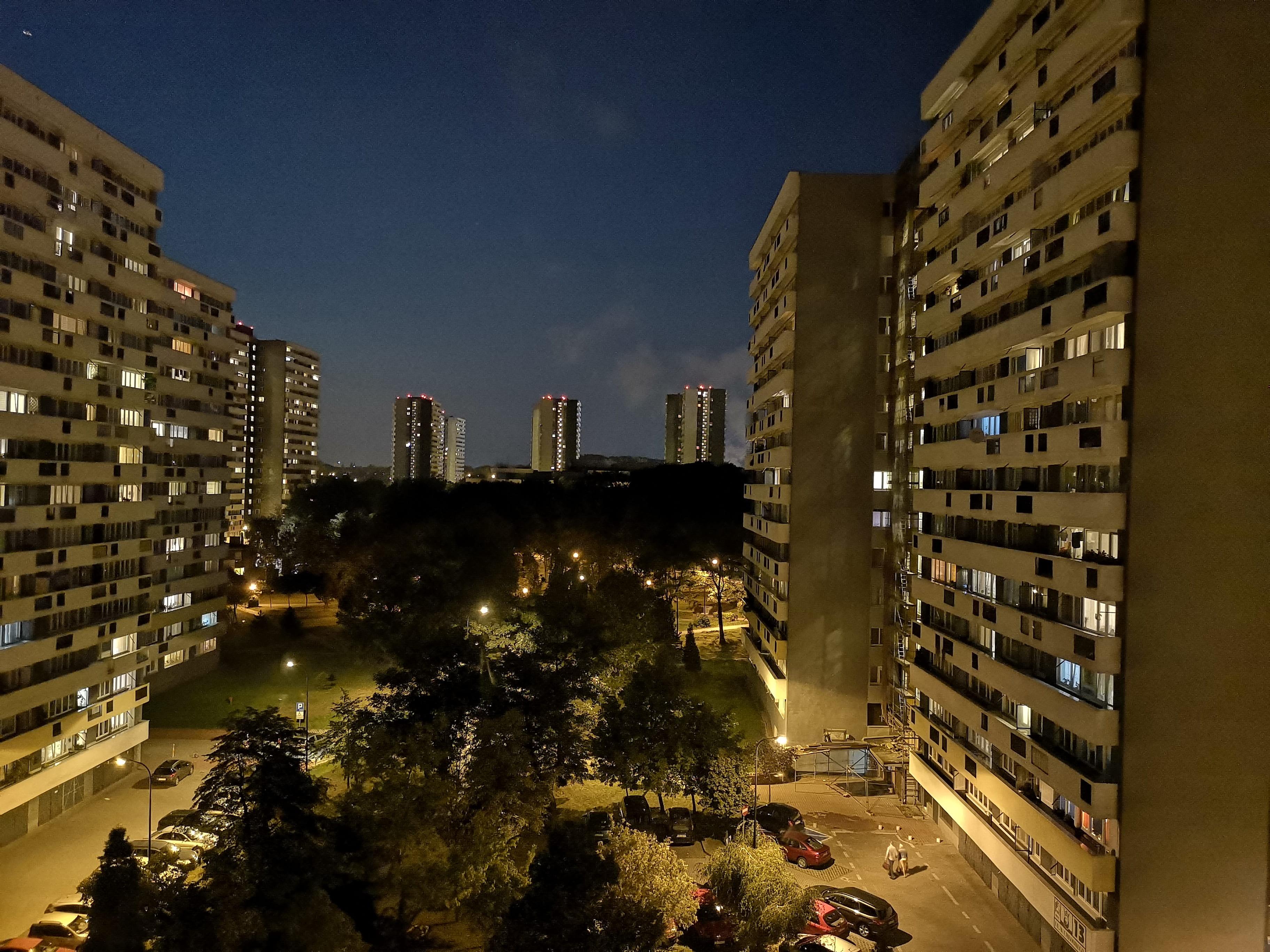 Zdjęcia nocne - Huawei P20 Pro