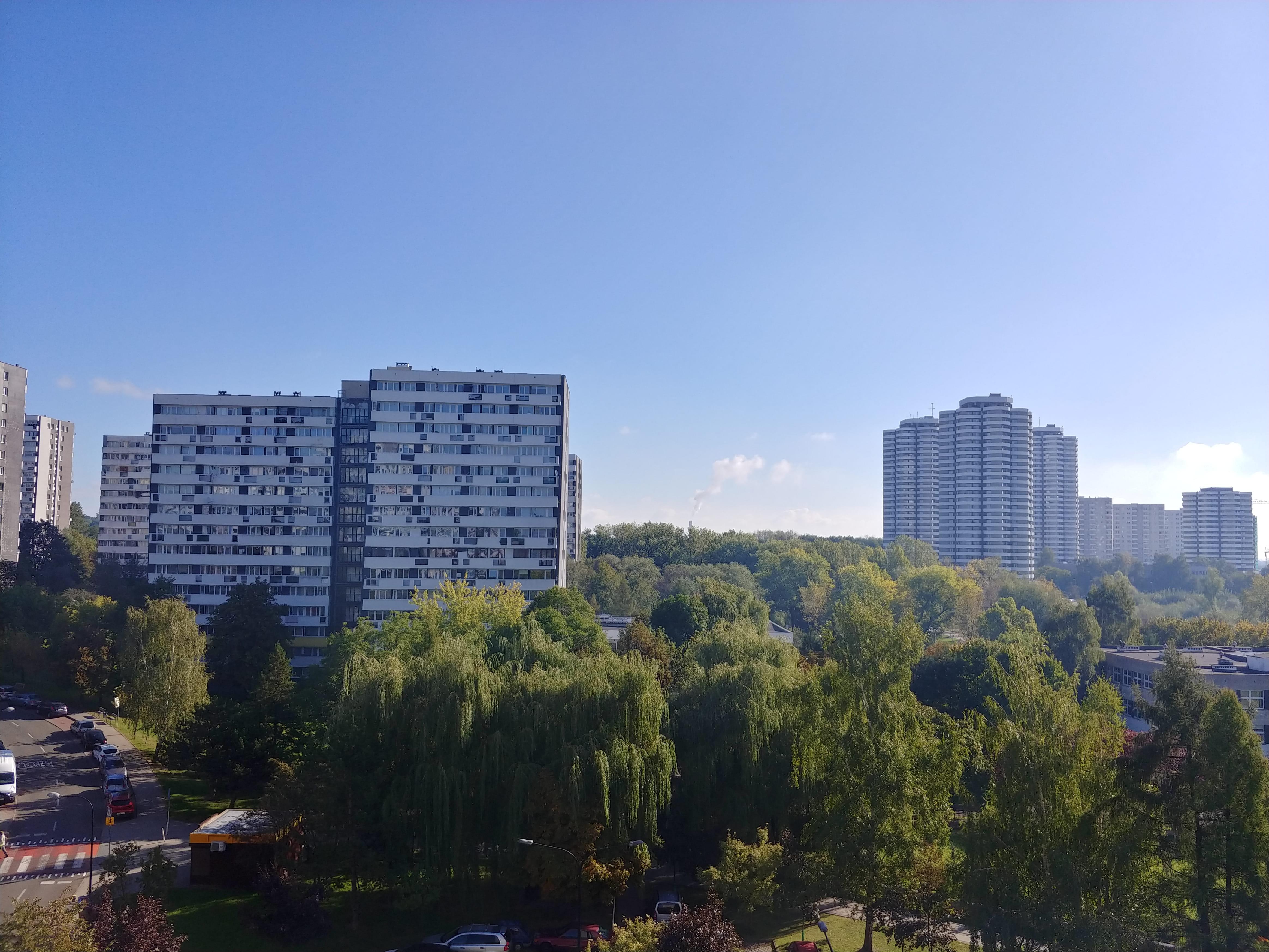 Słoneczna pogoda - LG V30