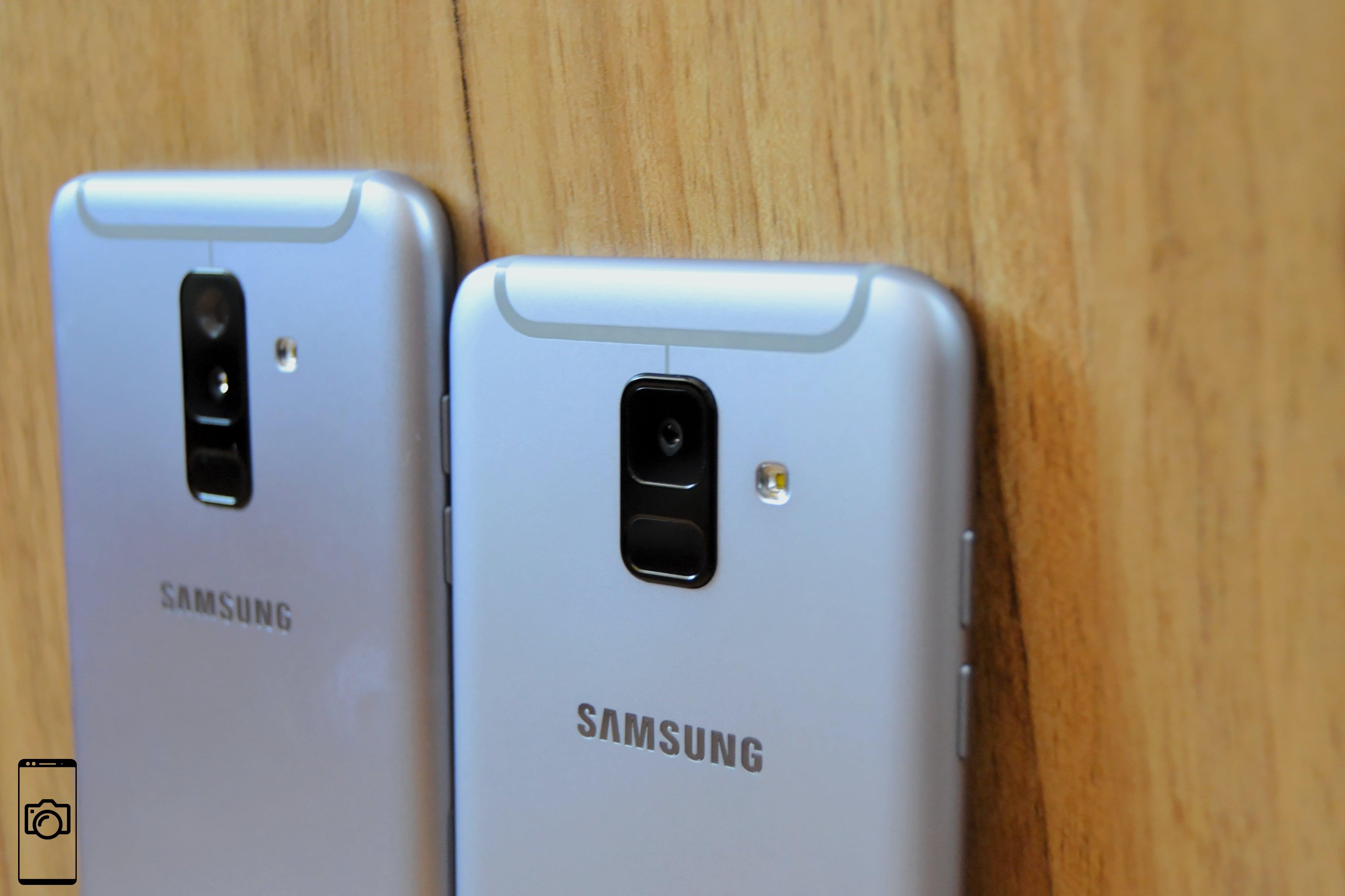 Samsung Galaxy A6 vs Galaxy A6+