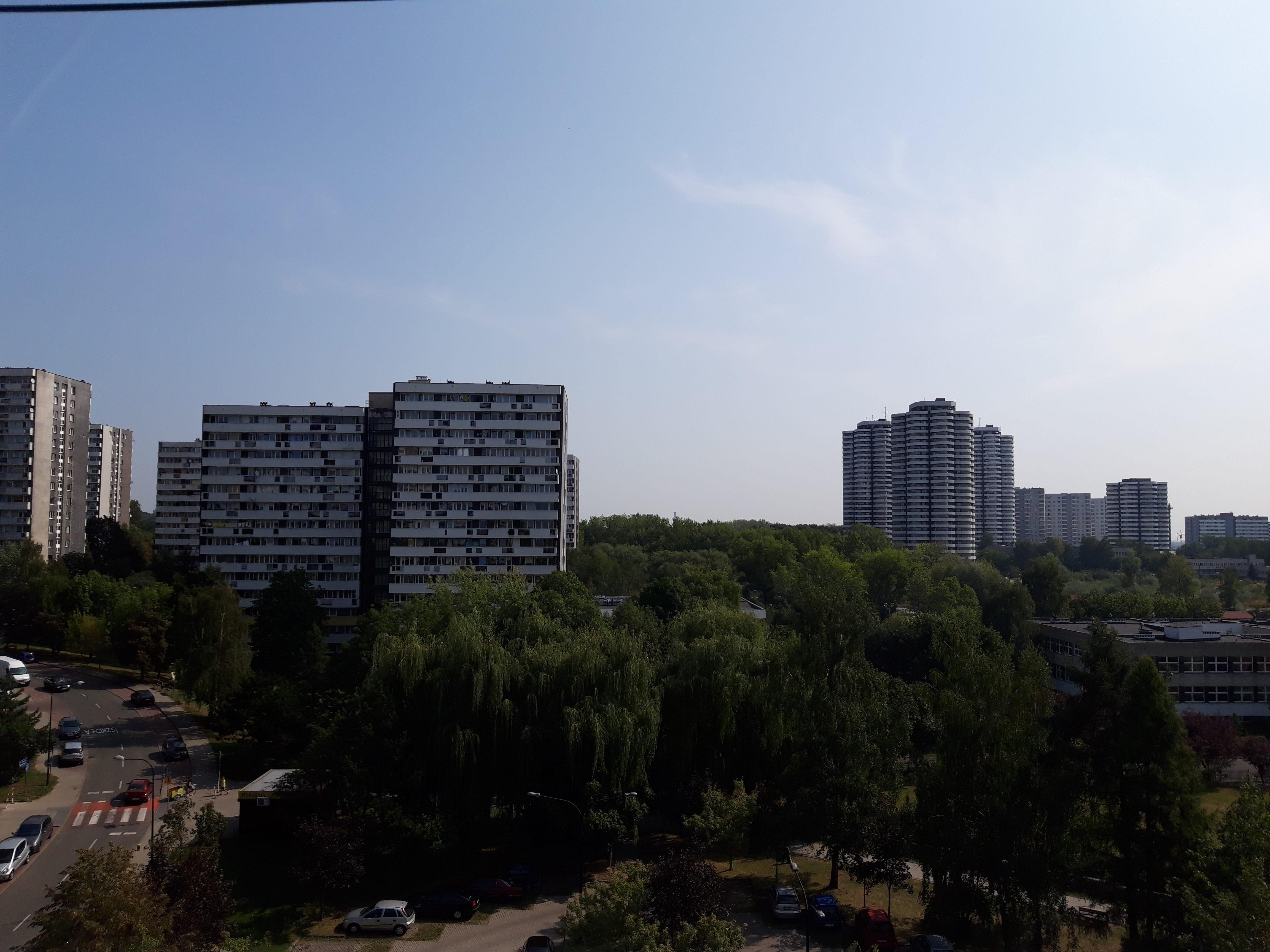 Słoneczna pogoda - Samsung Galaxy A6