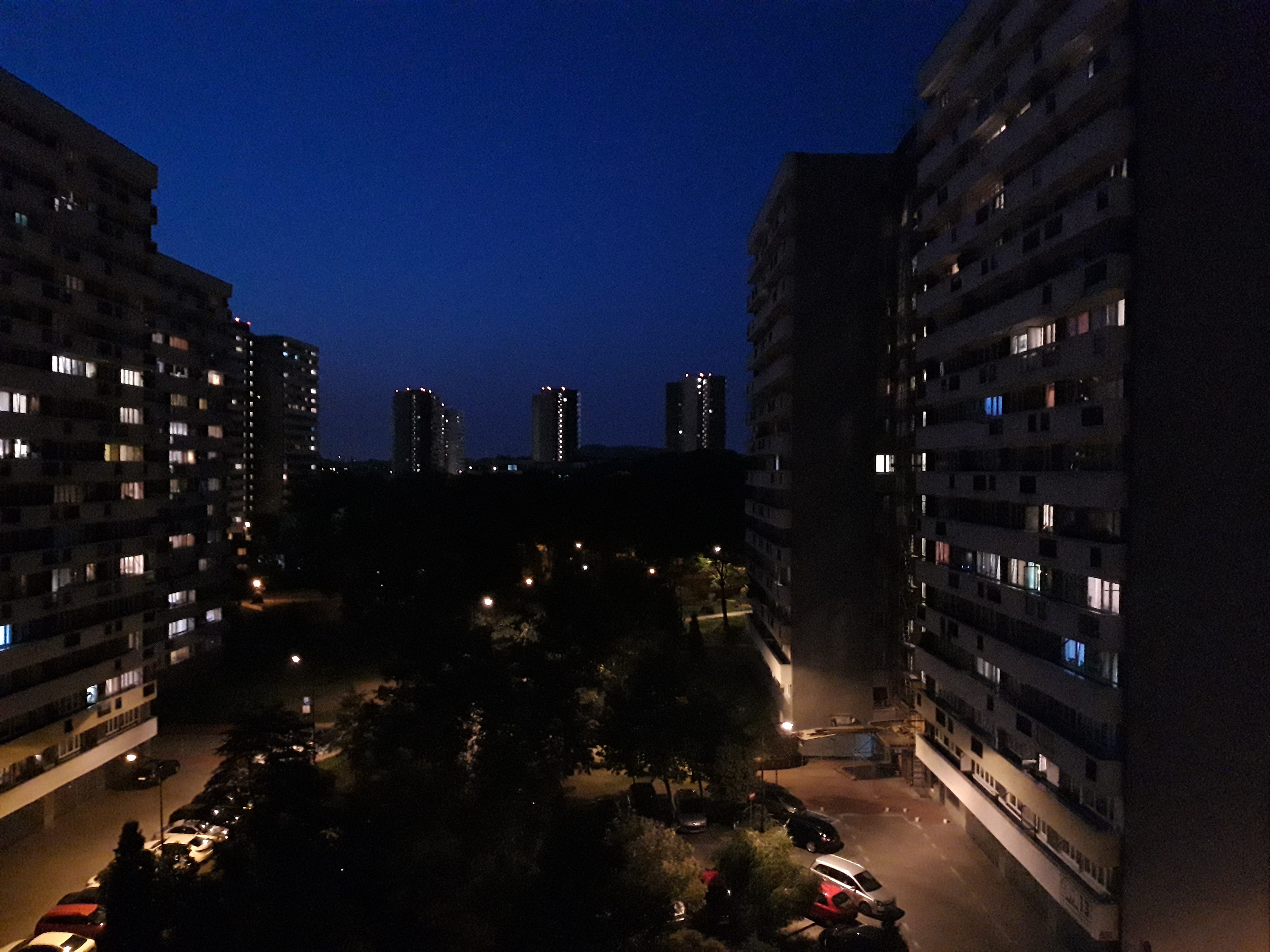 Zdjęcia nocne - Samsung Galaxy A6