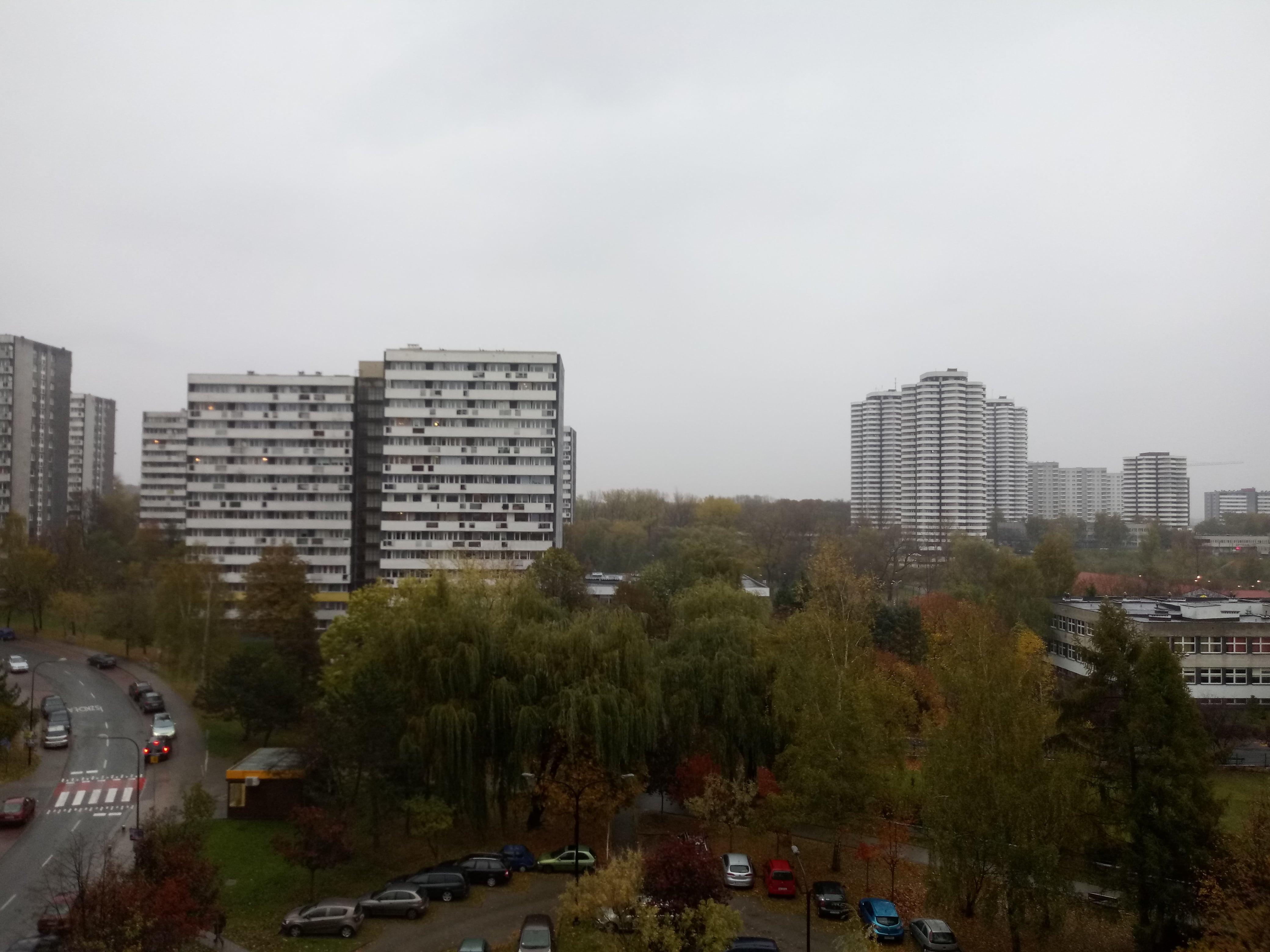 Pochmurna pogoda - LG Q7