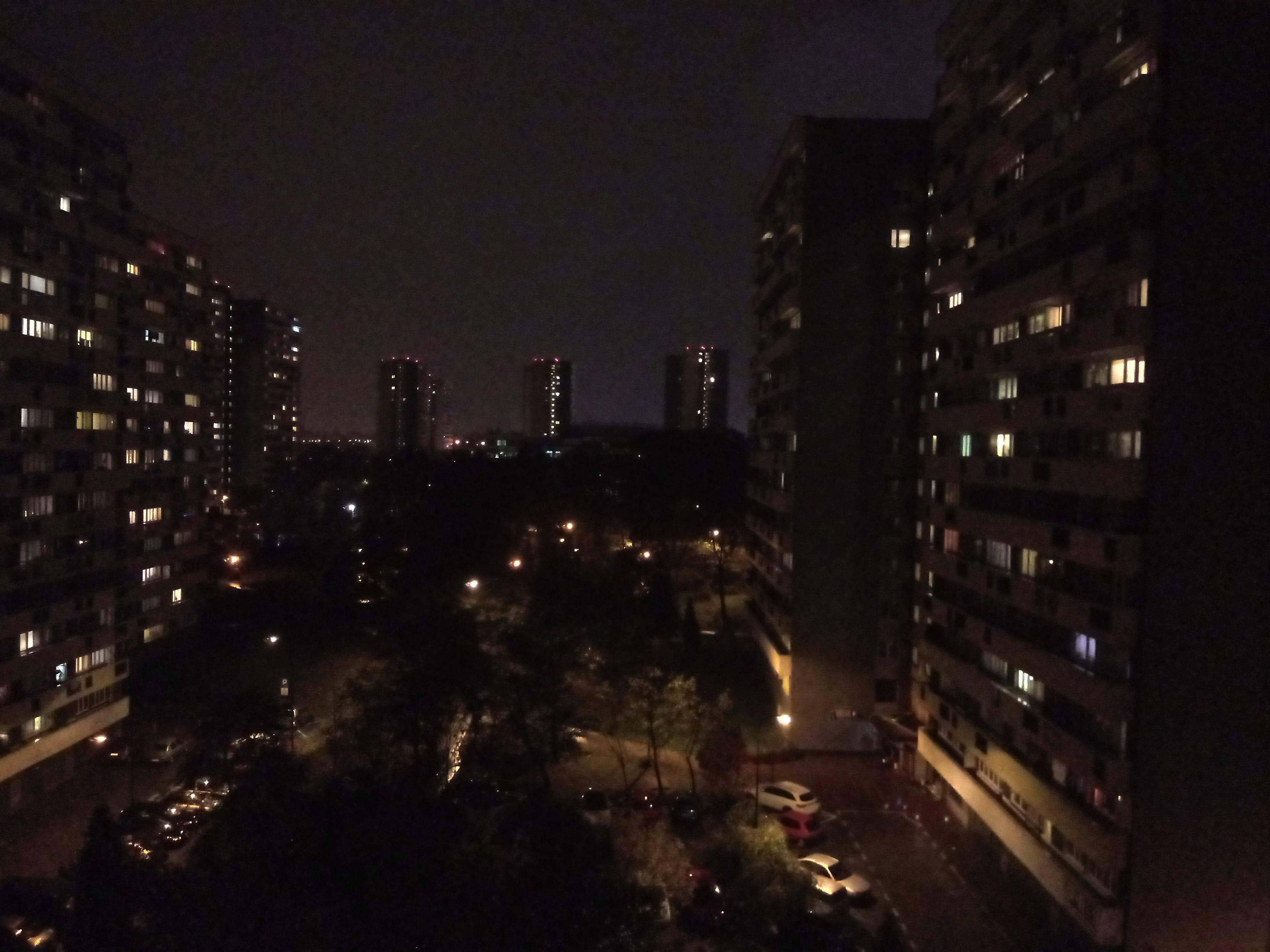 Zdjęcia nocne - LG Q7