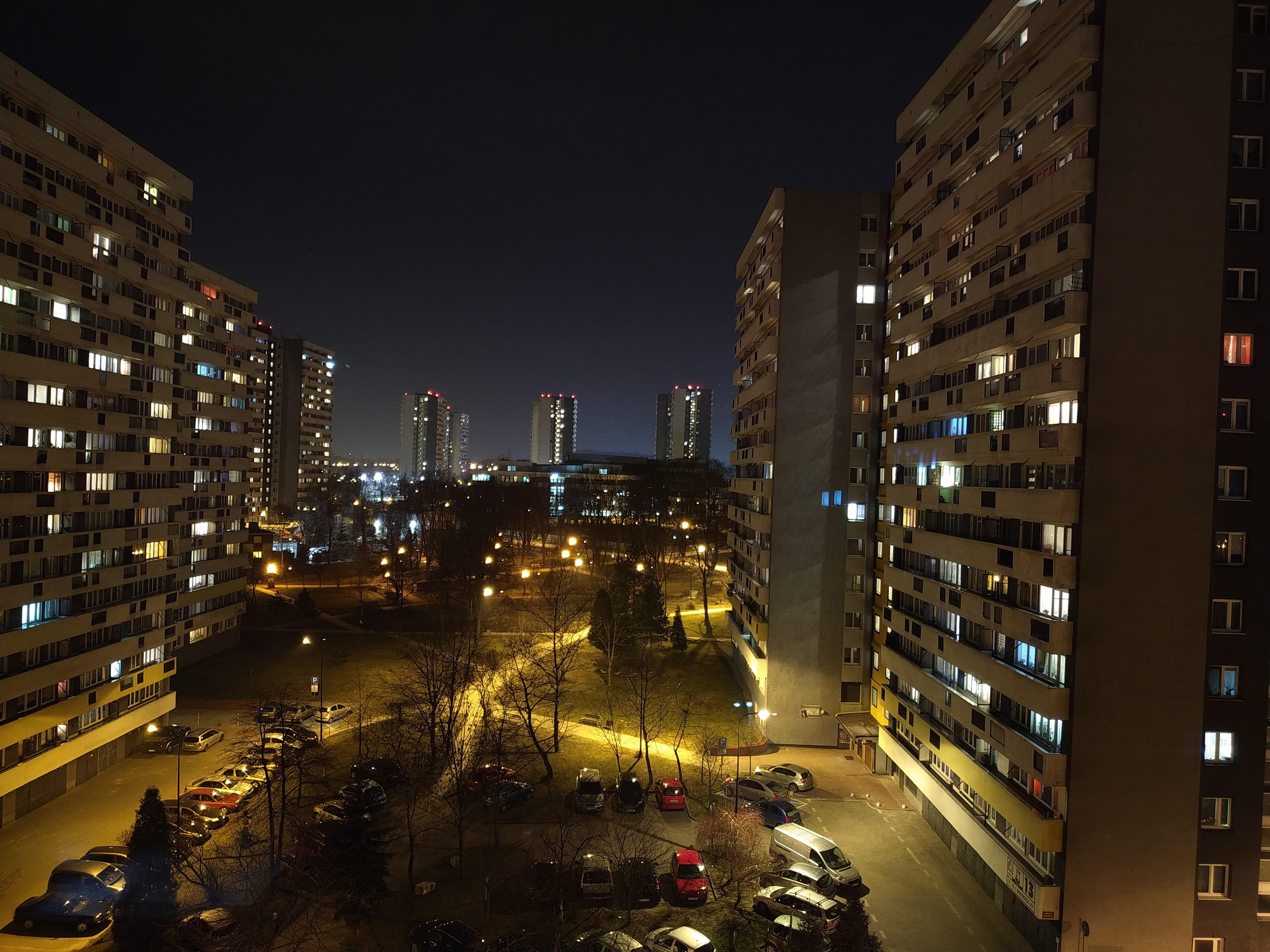 Zdjęcia nocne - Xiaomi Mi 8 Lite