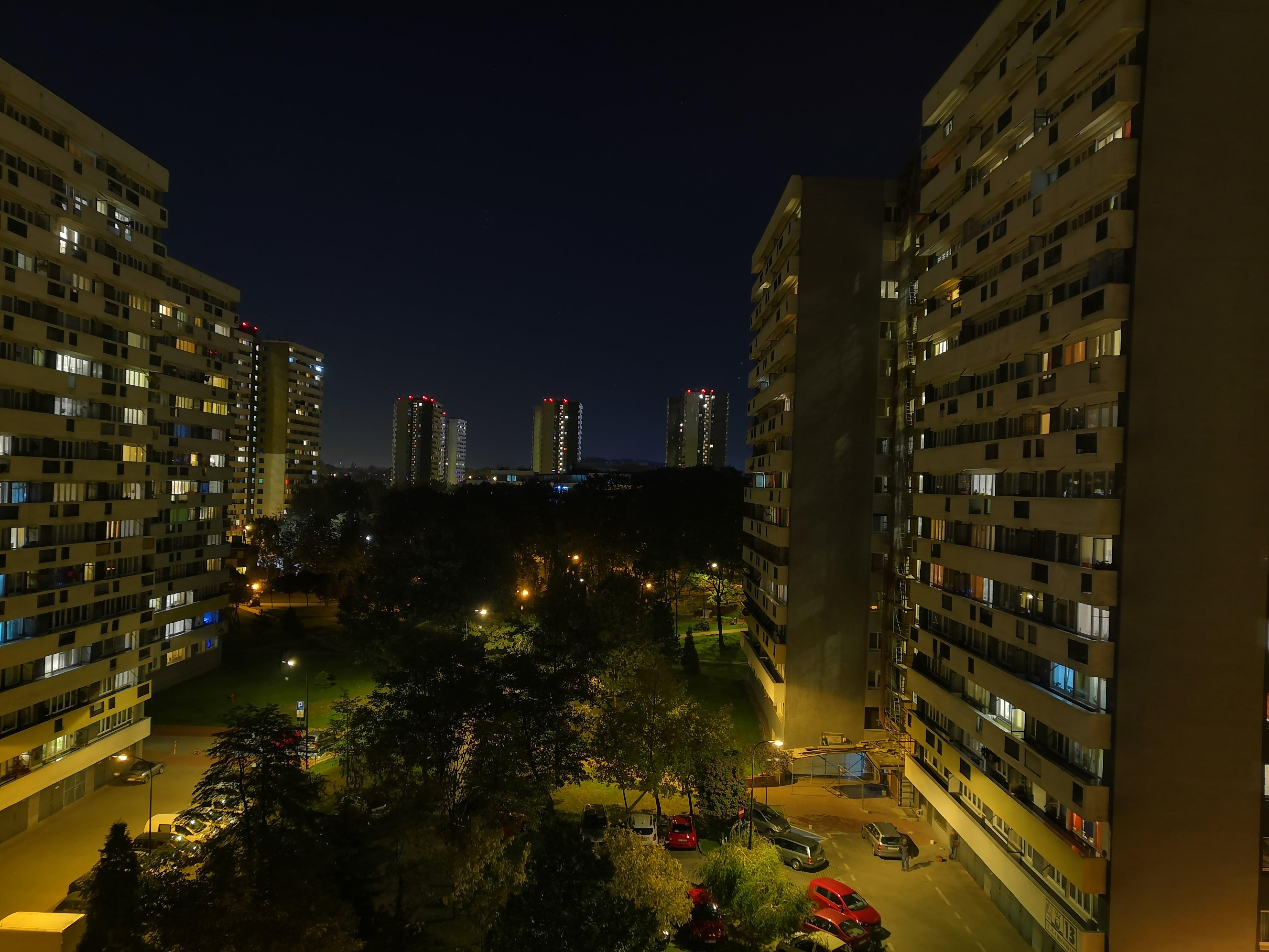 Zdjęcia nocne - Huawei Nova 3