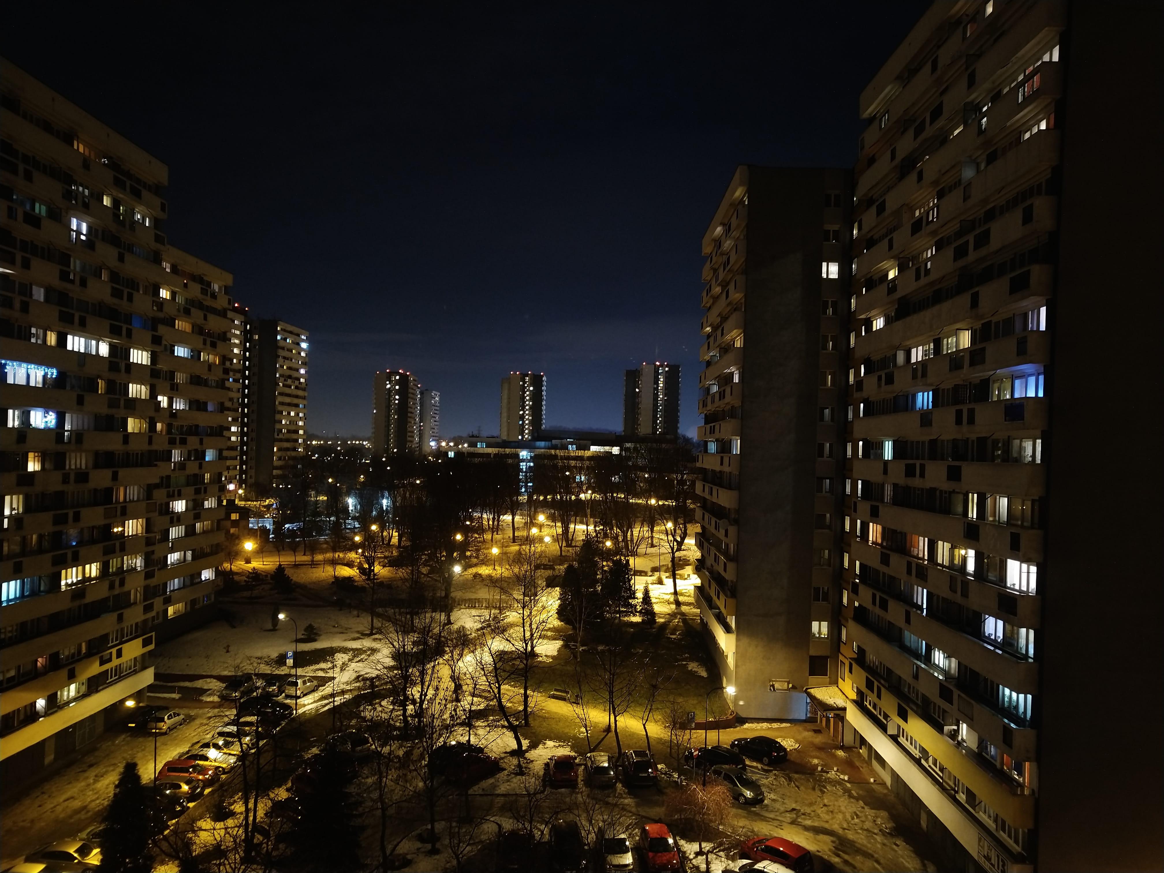Zdjęcia nocne - Nokia 7.1