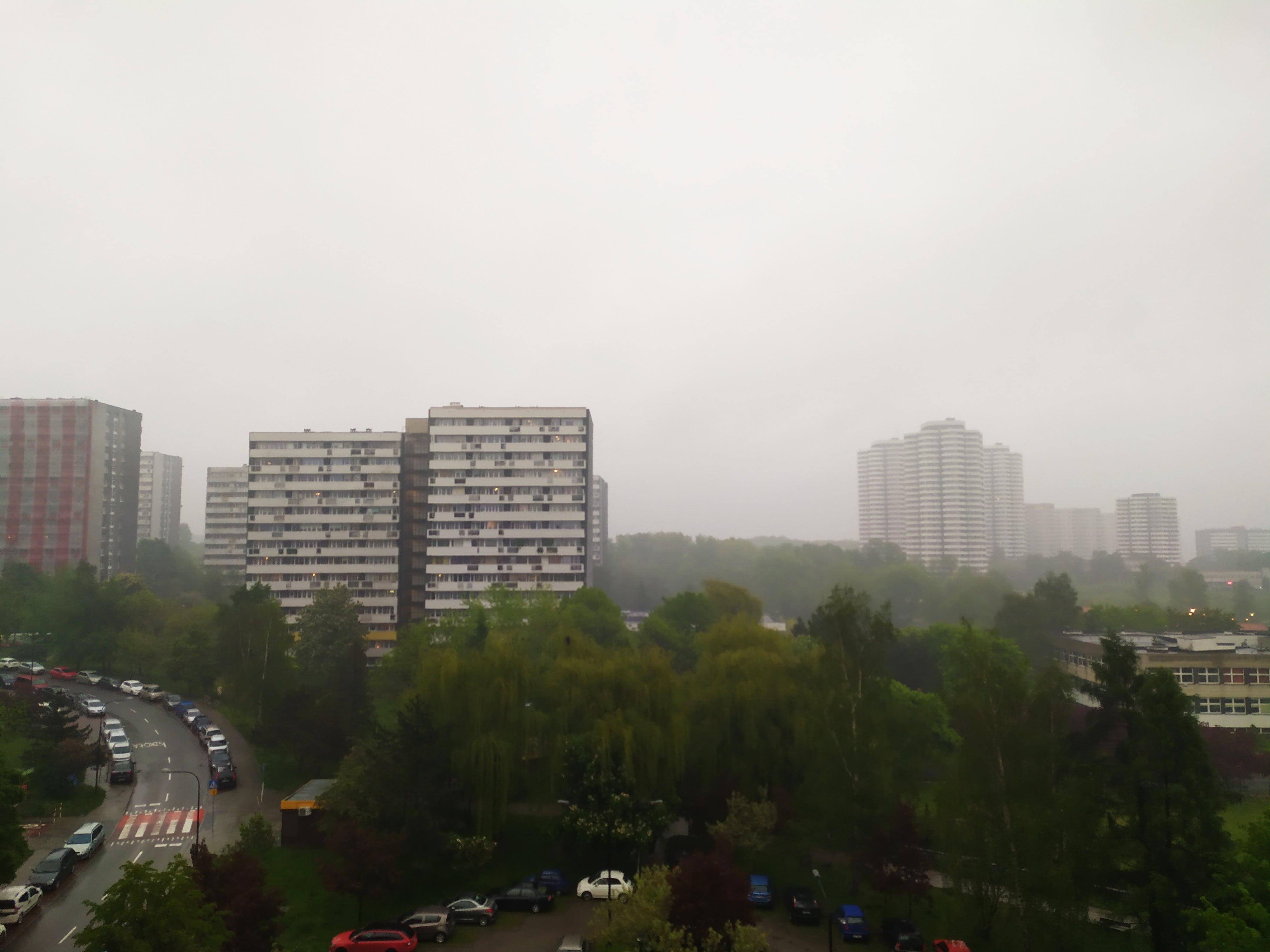Pochmurna pogoda - Redmi Note 7