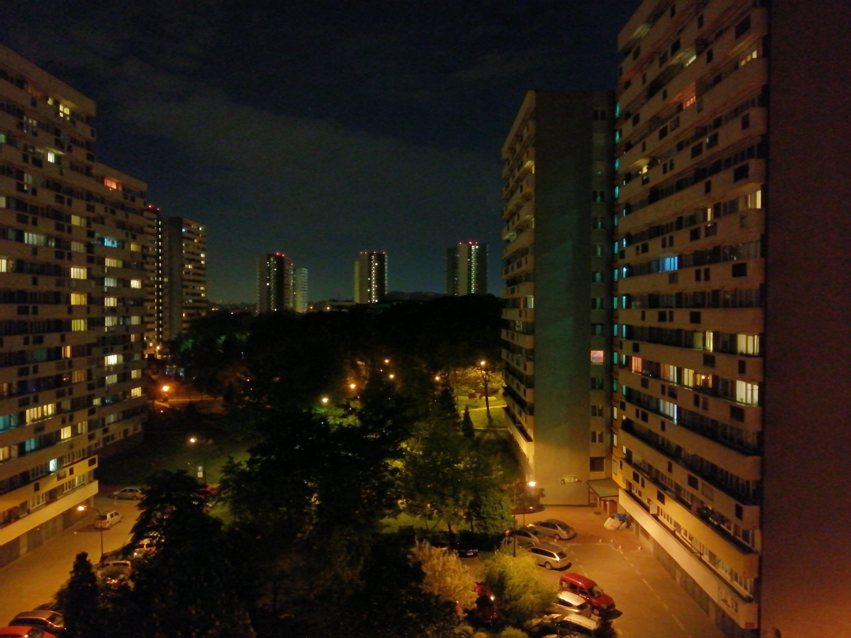 Zdjęcia nocne - Honor 10 Lite