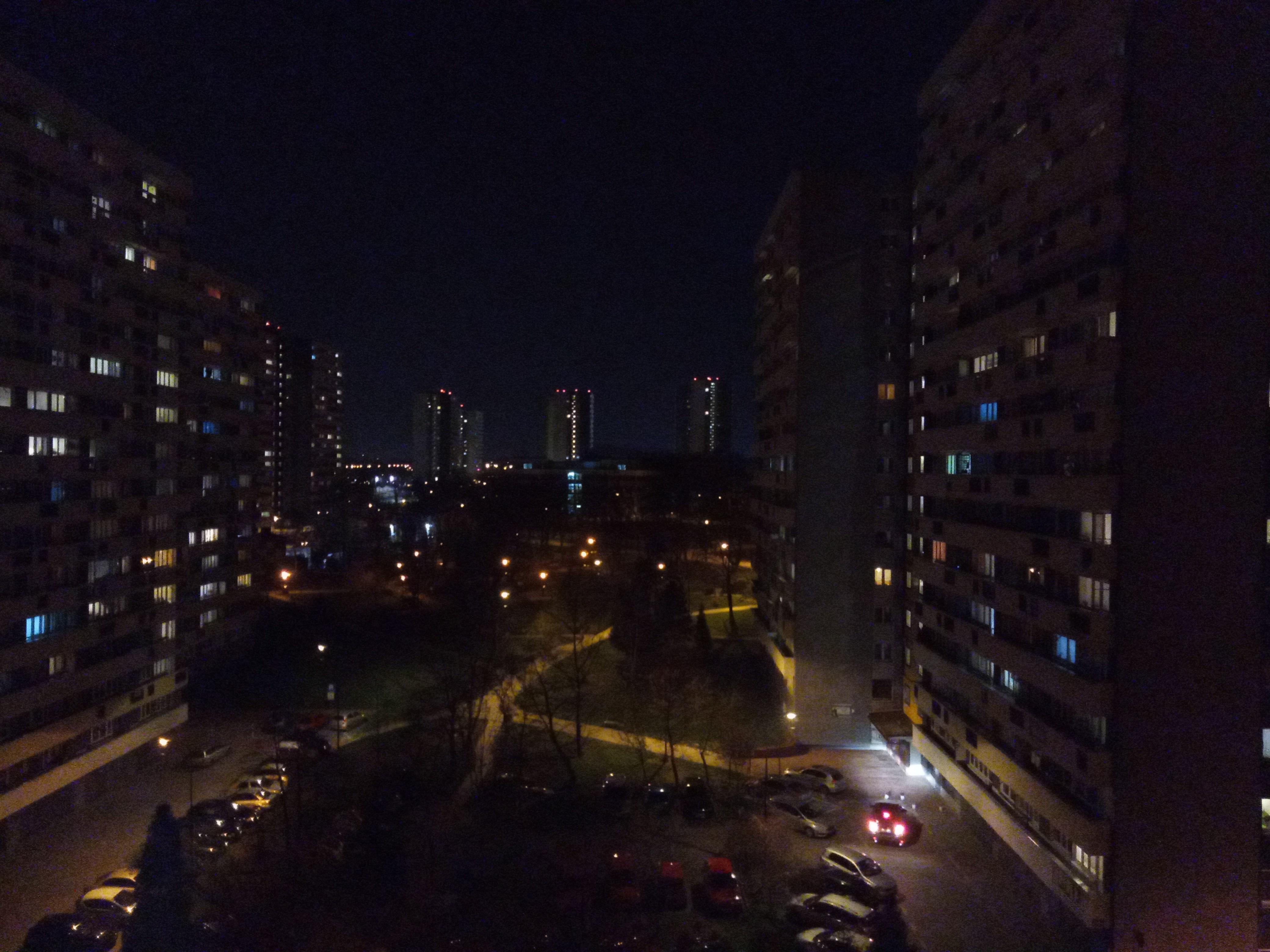 Zdjęcia nocne - Sony Xperia L3
