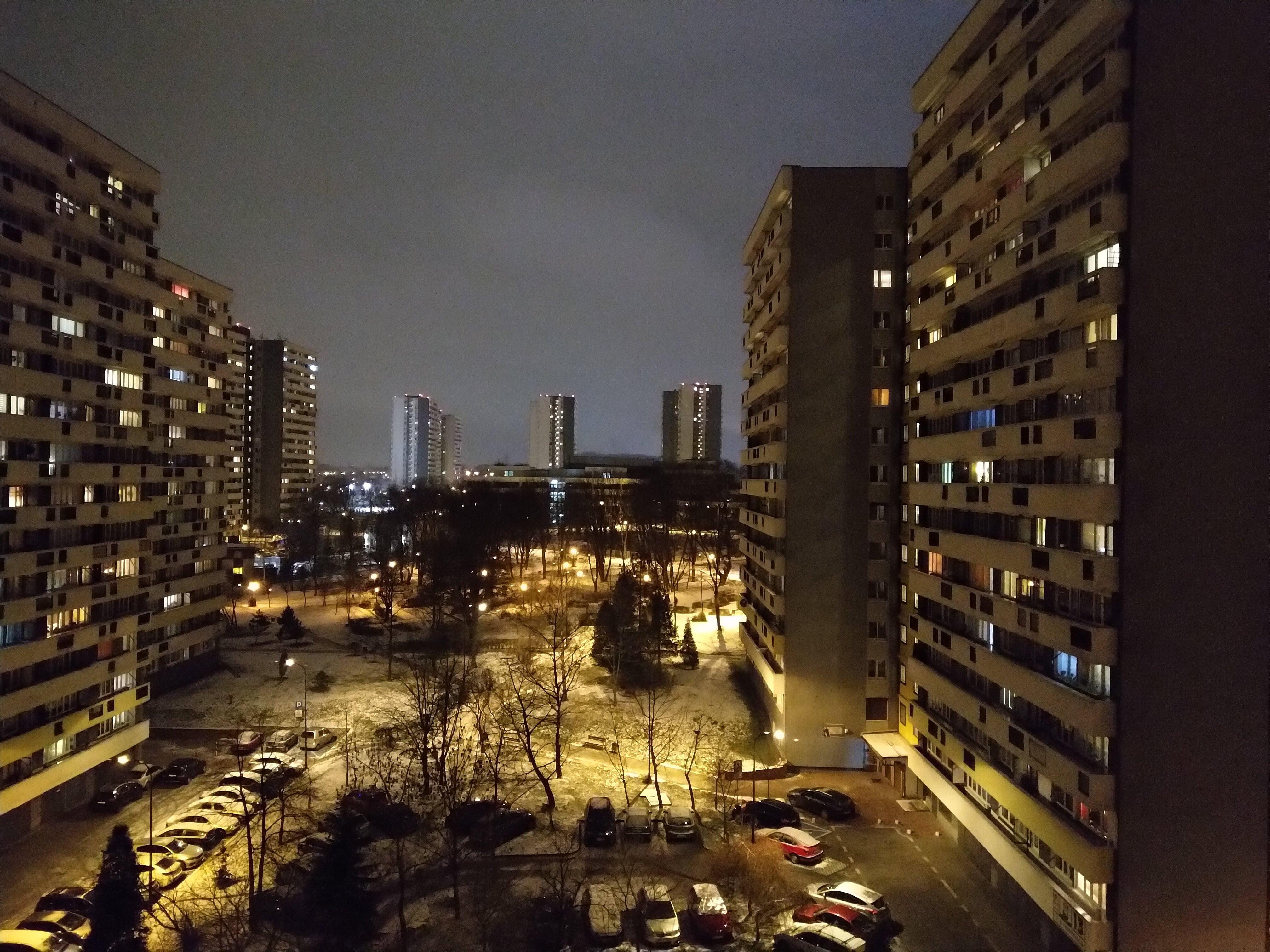 Zdjęcia nocne - Nokia 7 Plus