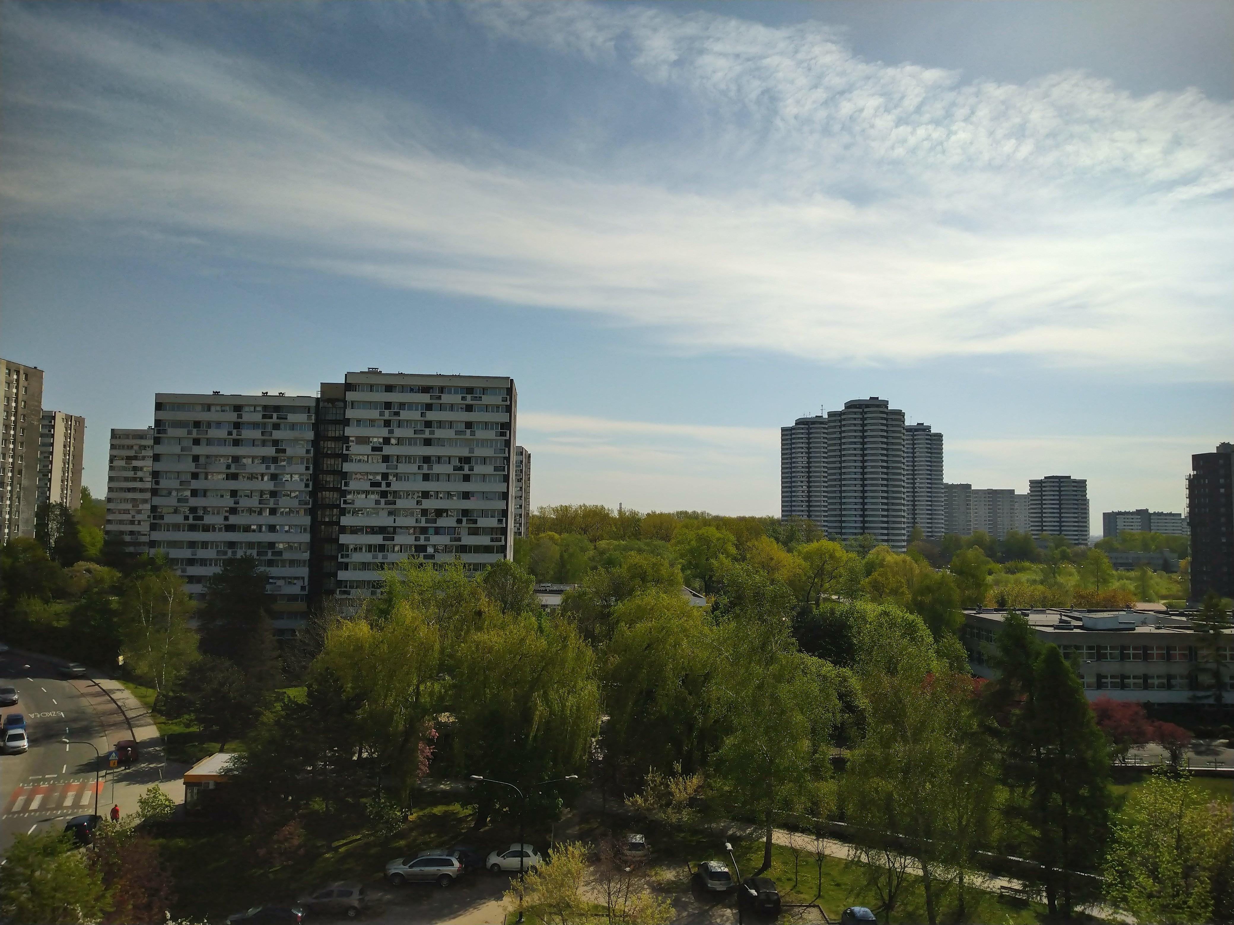 Słoneczna pogoda - Sony Xperia 10