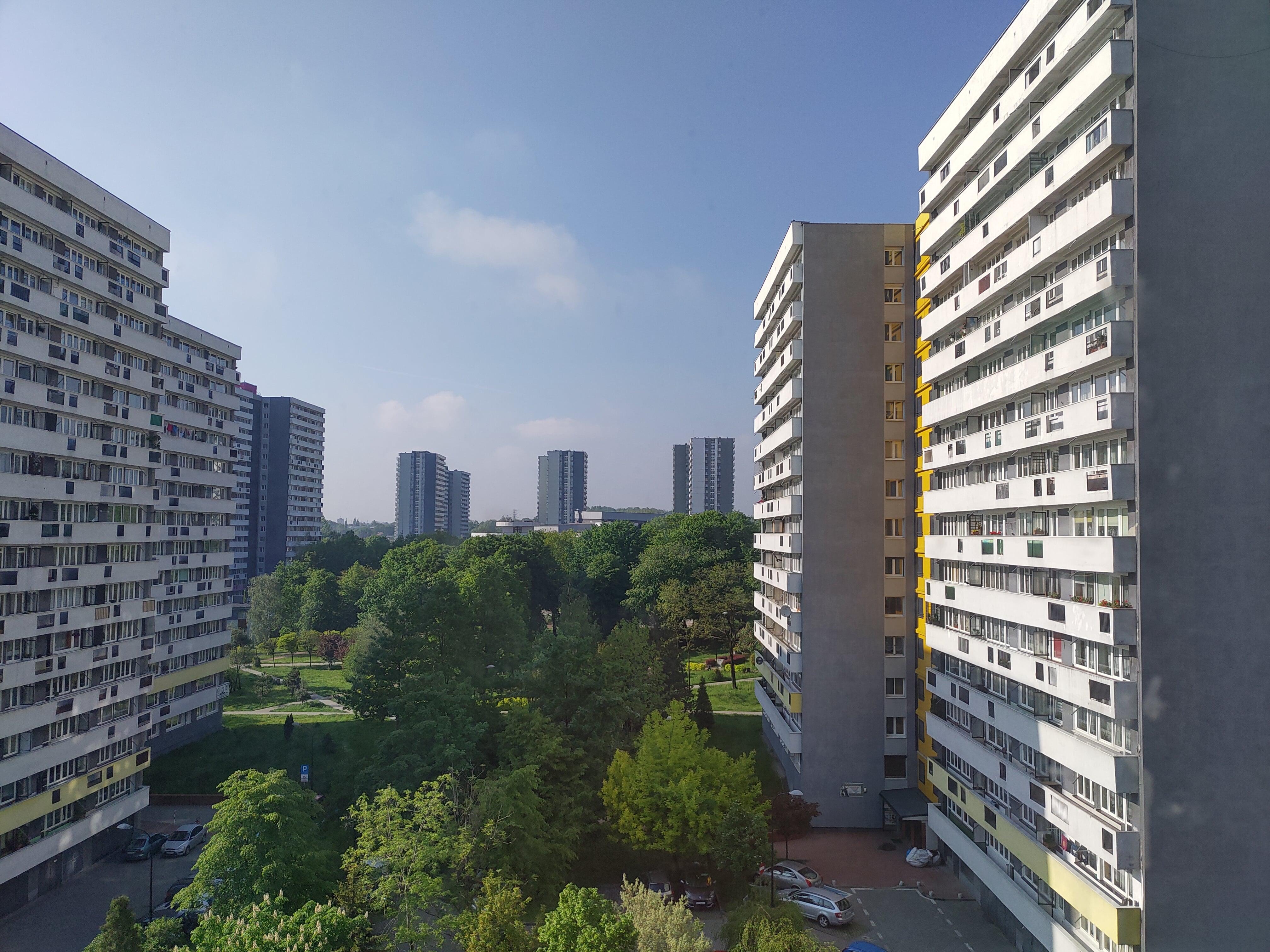 Słoneczna pogoda - Nokia 8.1