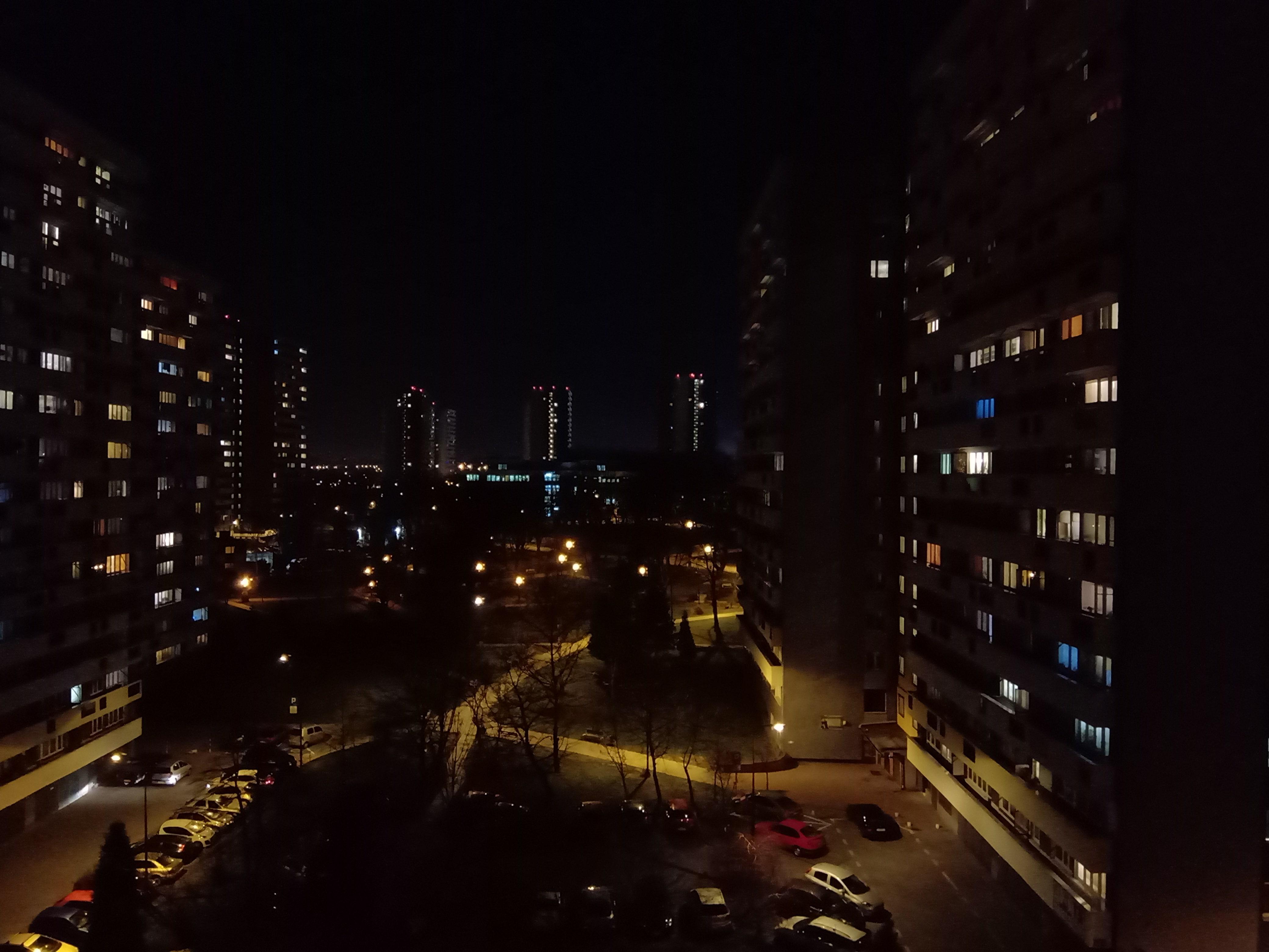 Zdjęcia nocne - Nokia 5.1 Plus
