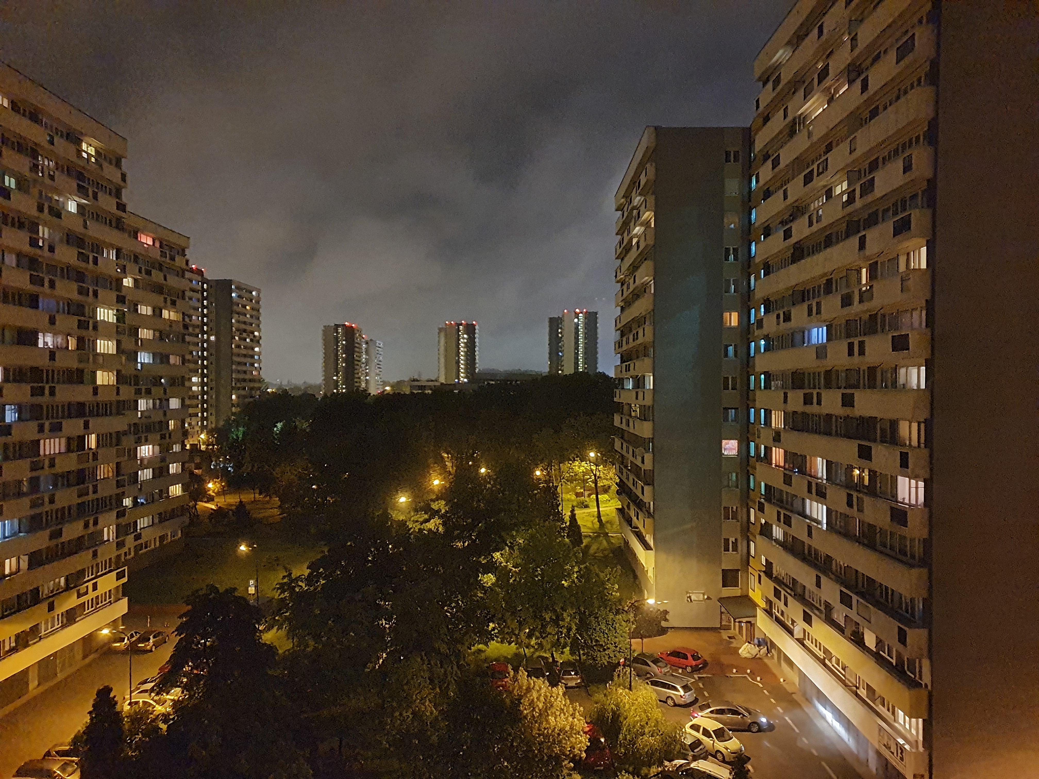 Zdjęcia nocne - Samsung Galaxy S10