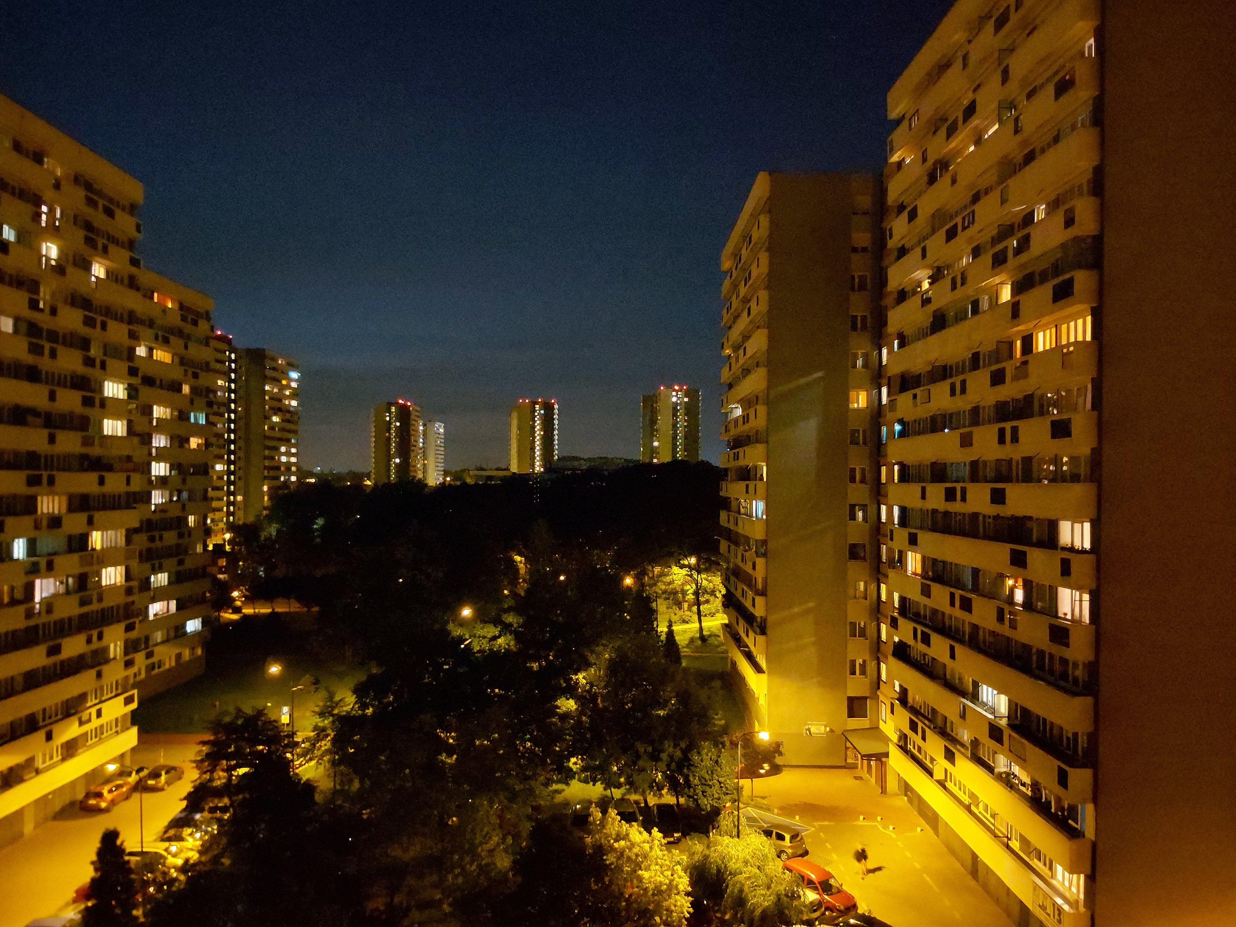 Zdjęcia nocne - Samsung Galaxy A70