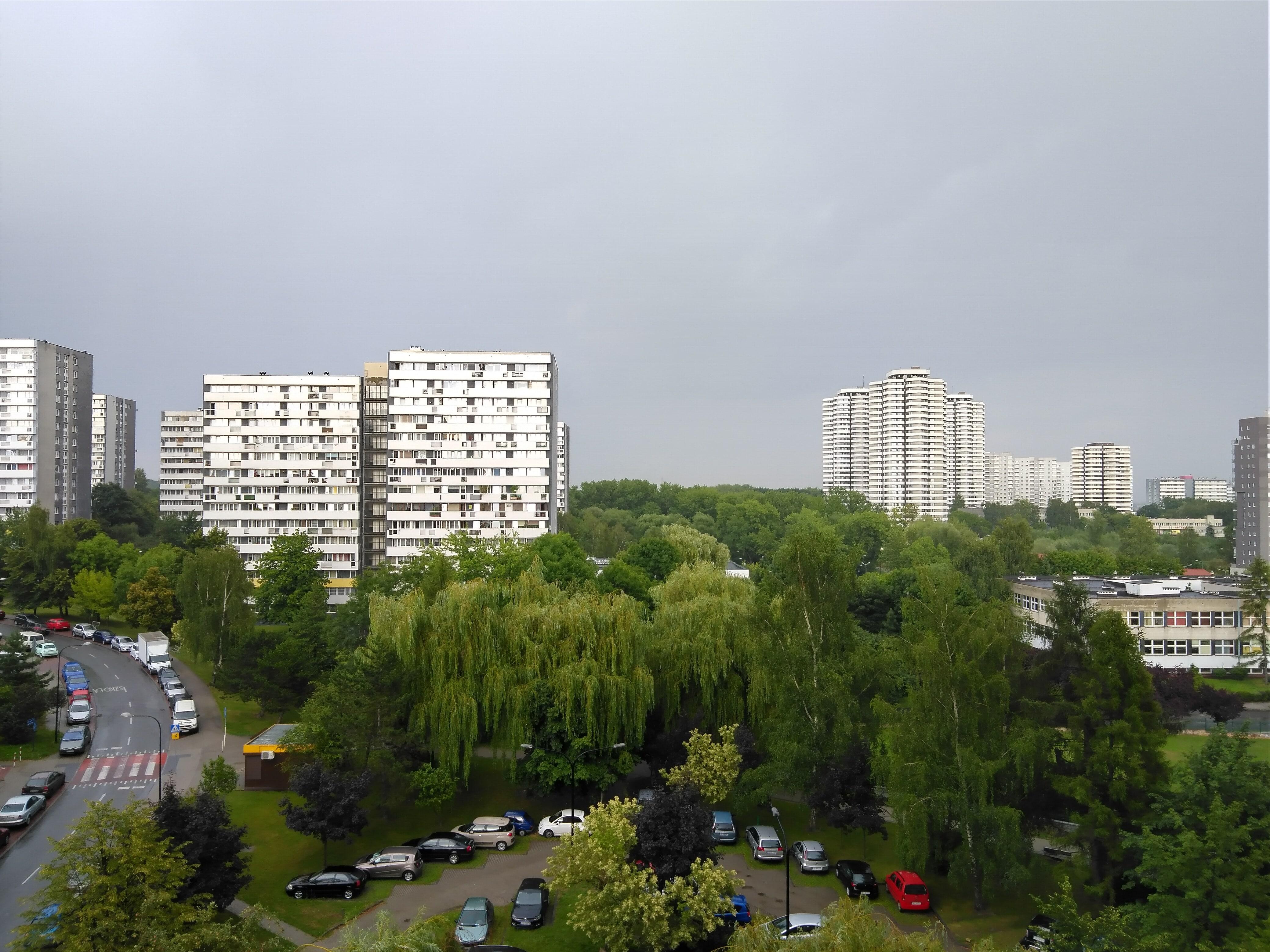 Pochmurna pogoda - Nokia 4.2