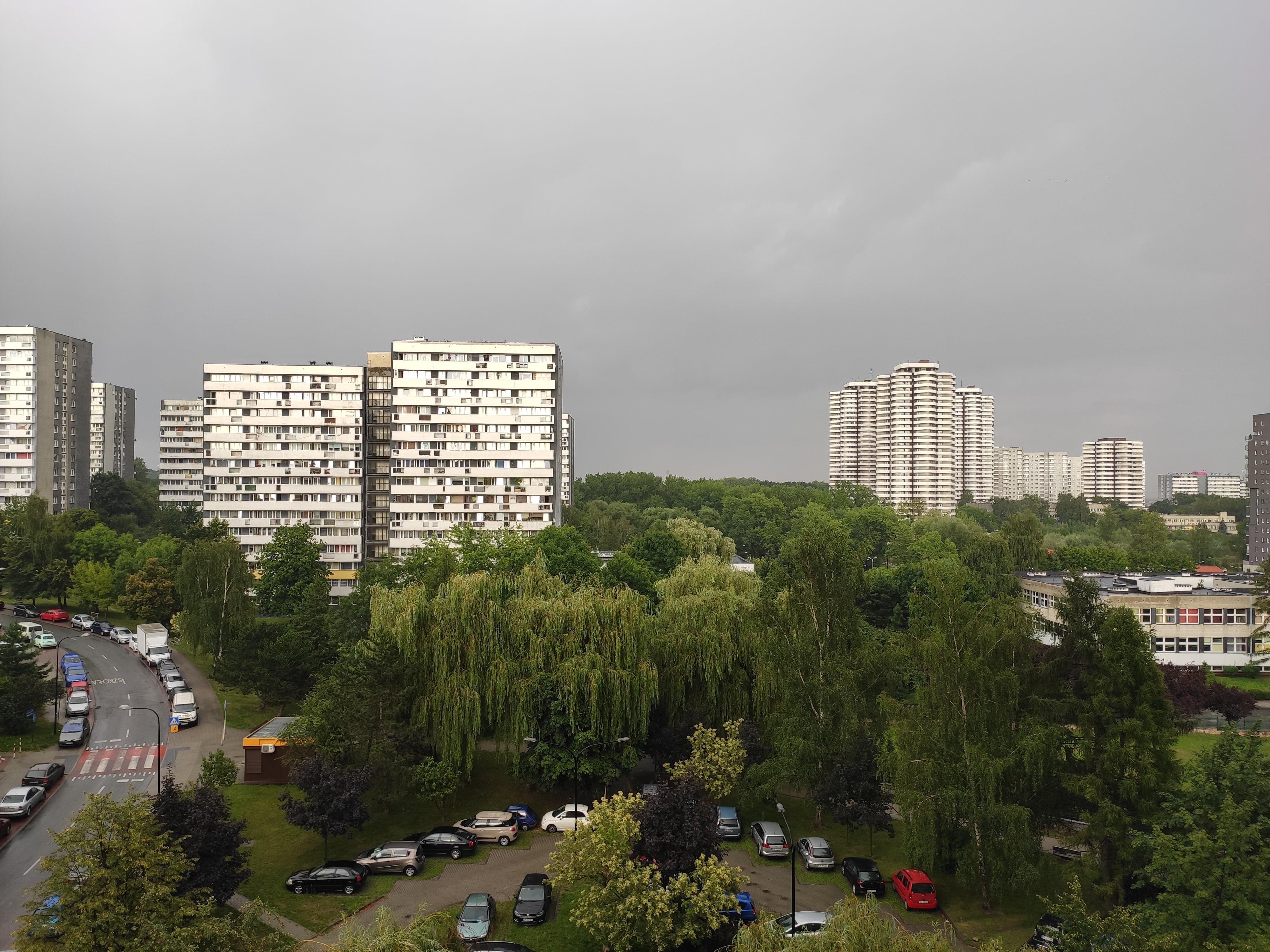Pochmurna pogoda - Xiaomi Mi 9 SE