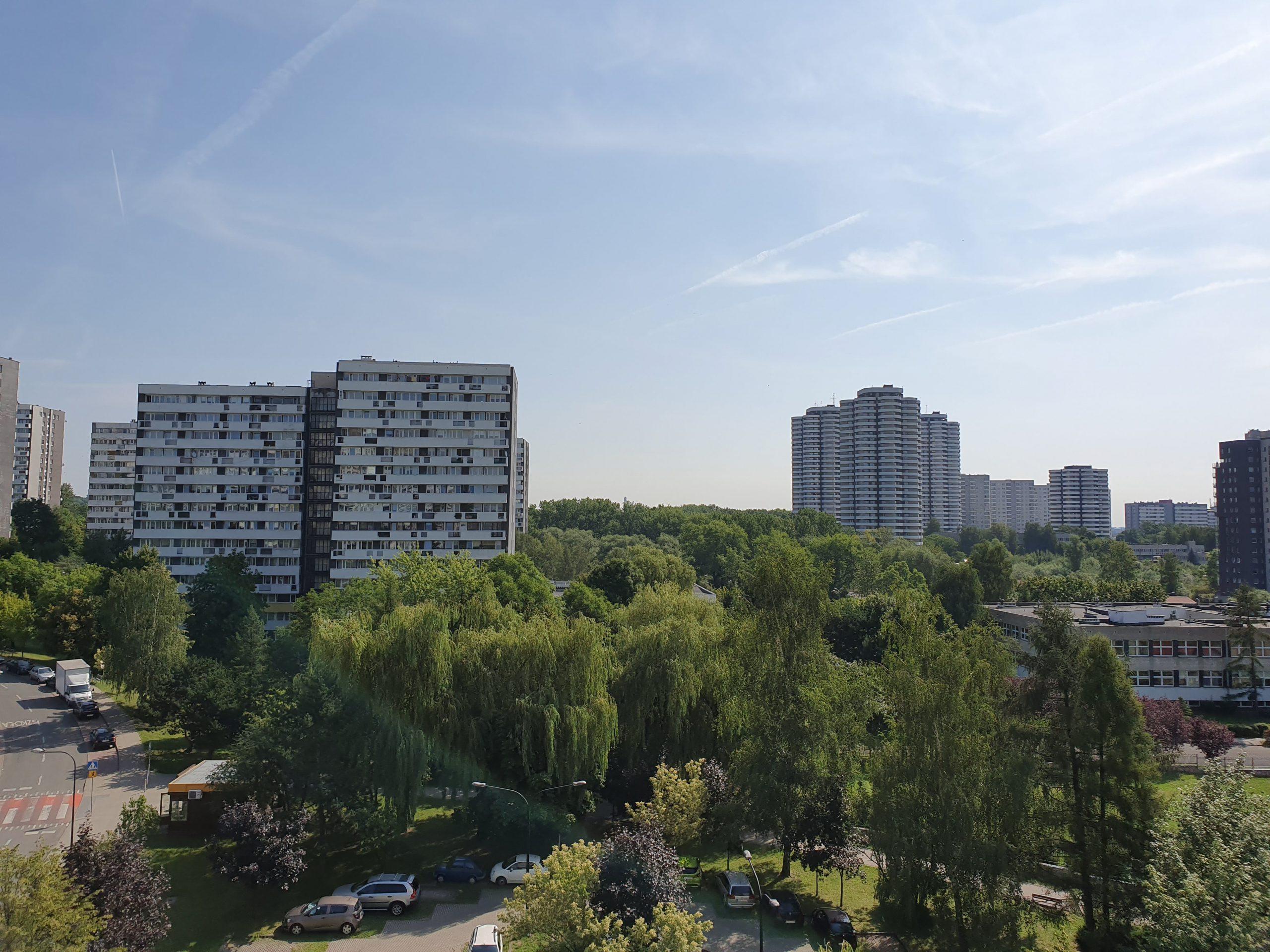 Słoneczna pogoda - Samsung Galaxy S10e