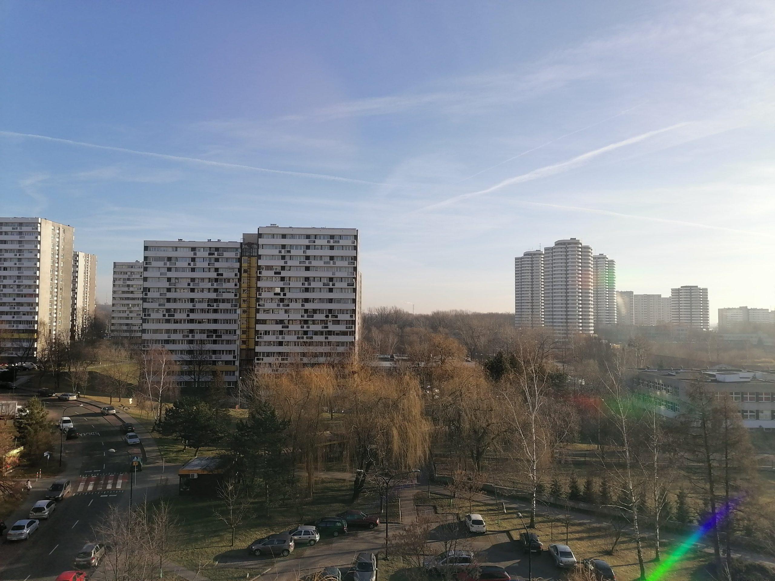 Słoneczna pogoda - Huawei P Smart Pro