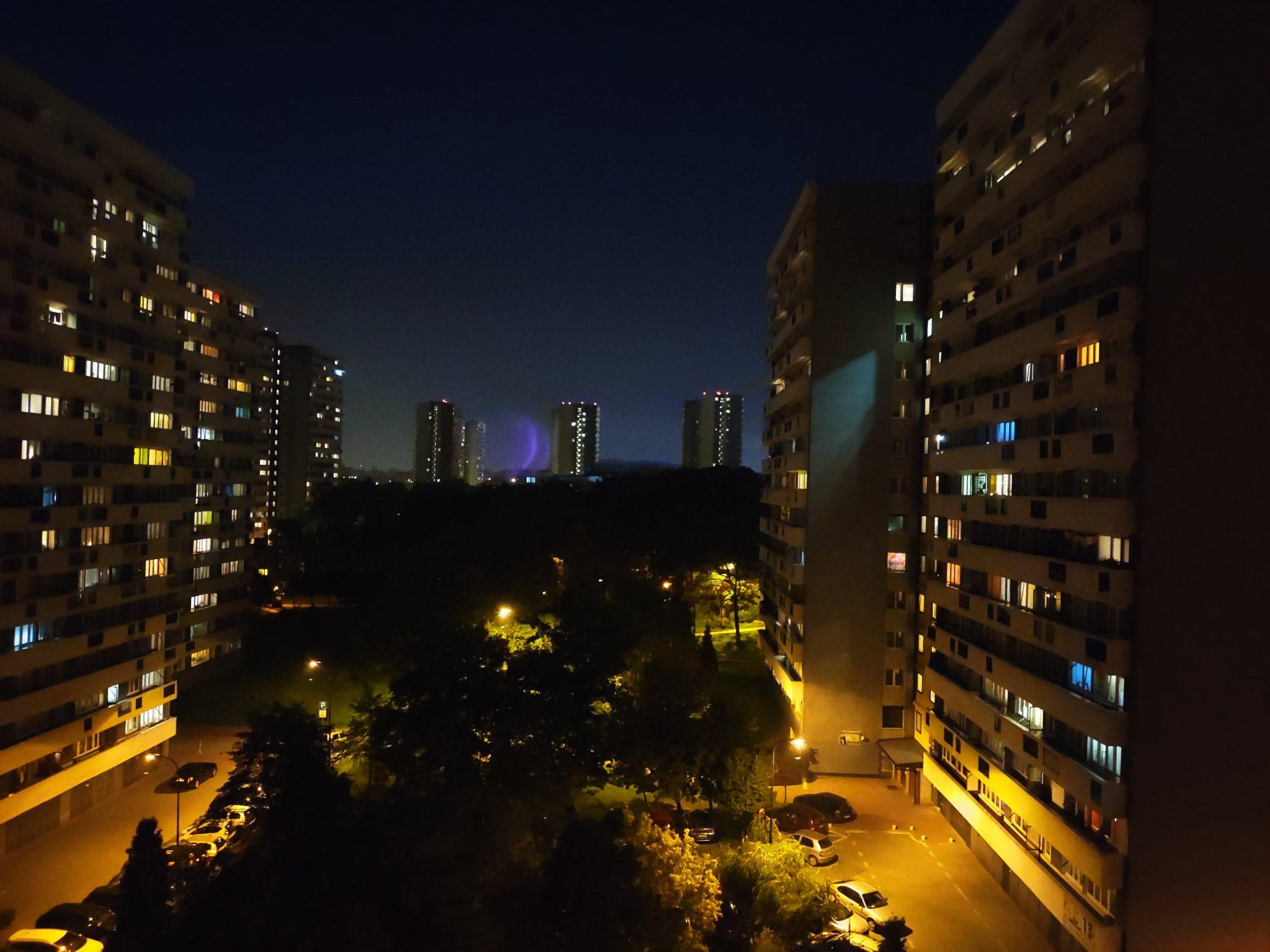 Zdjęcia nocne - Xiaomi Mi 9