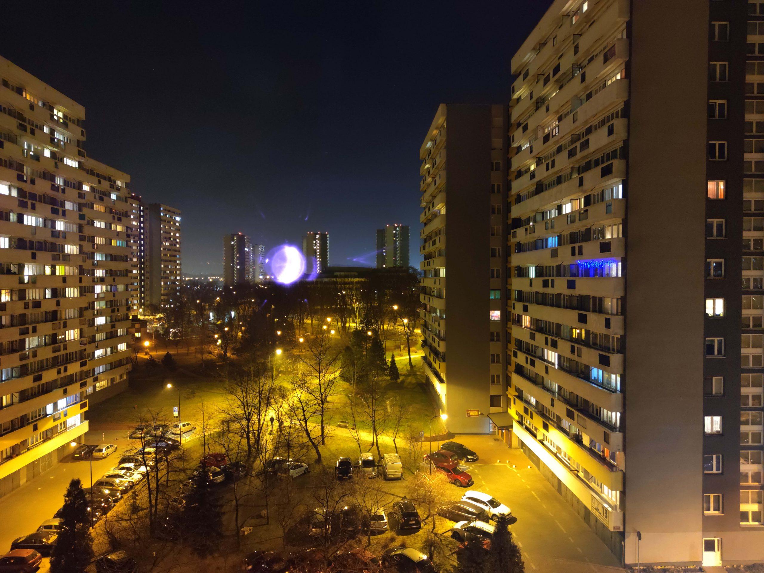 Zdjęcia nocne - Mi Note 10