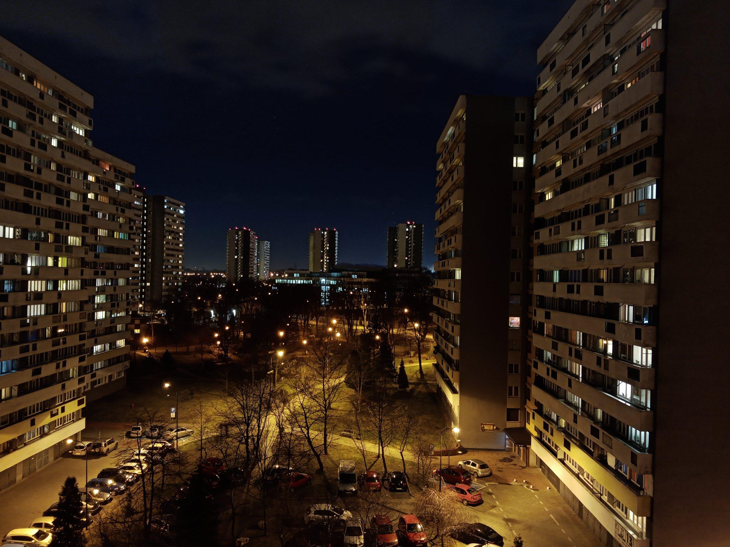 Zdjęcia nocne - Huawei Y6s