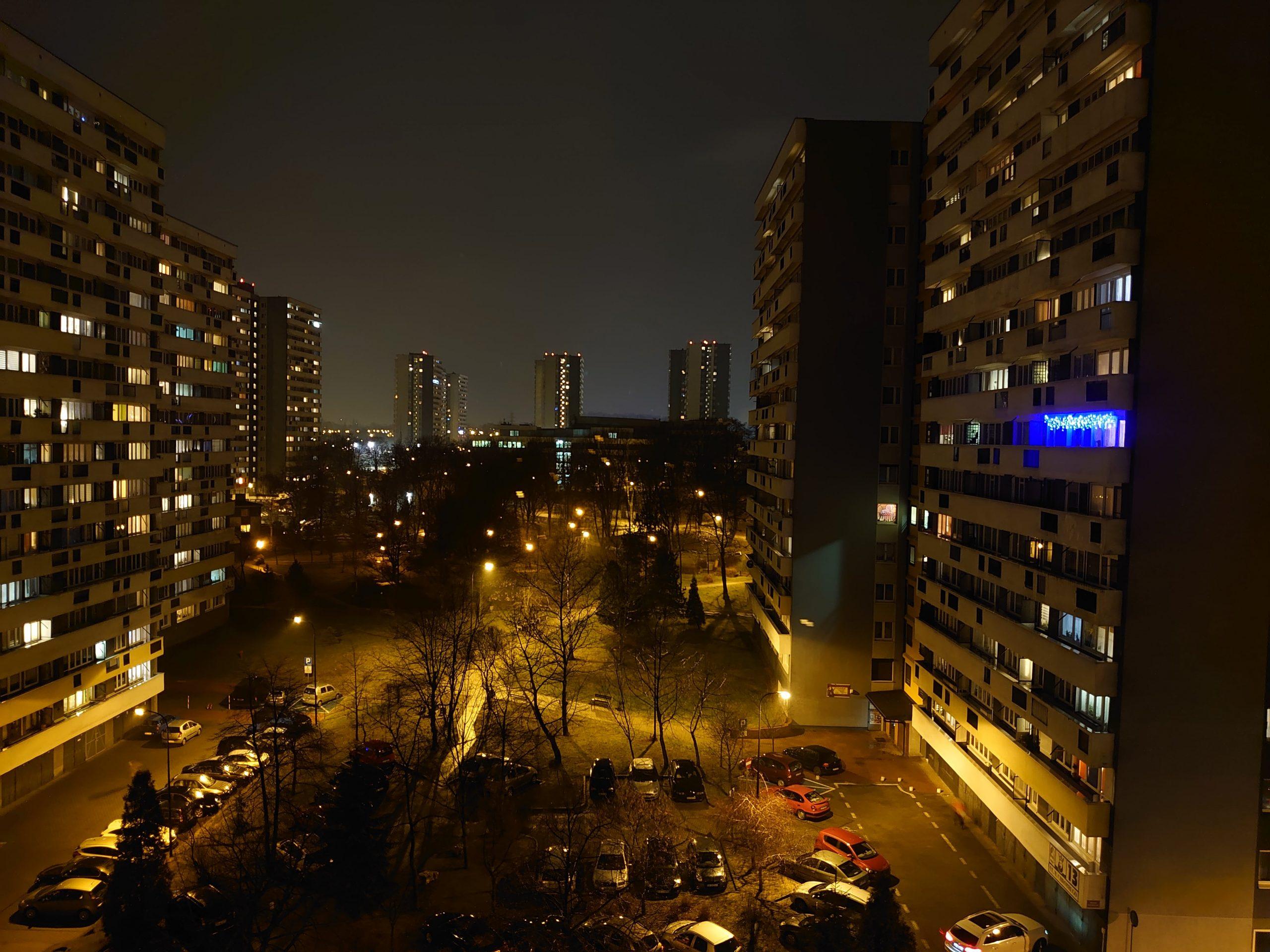 Zdjęcia nocne - Sony Xperia 5